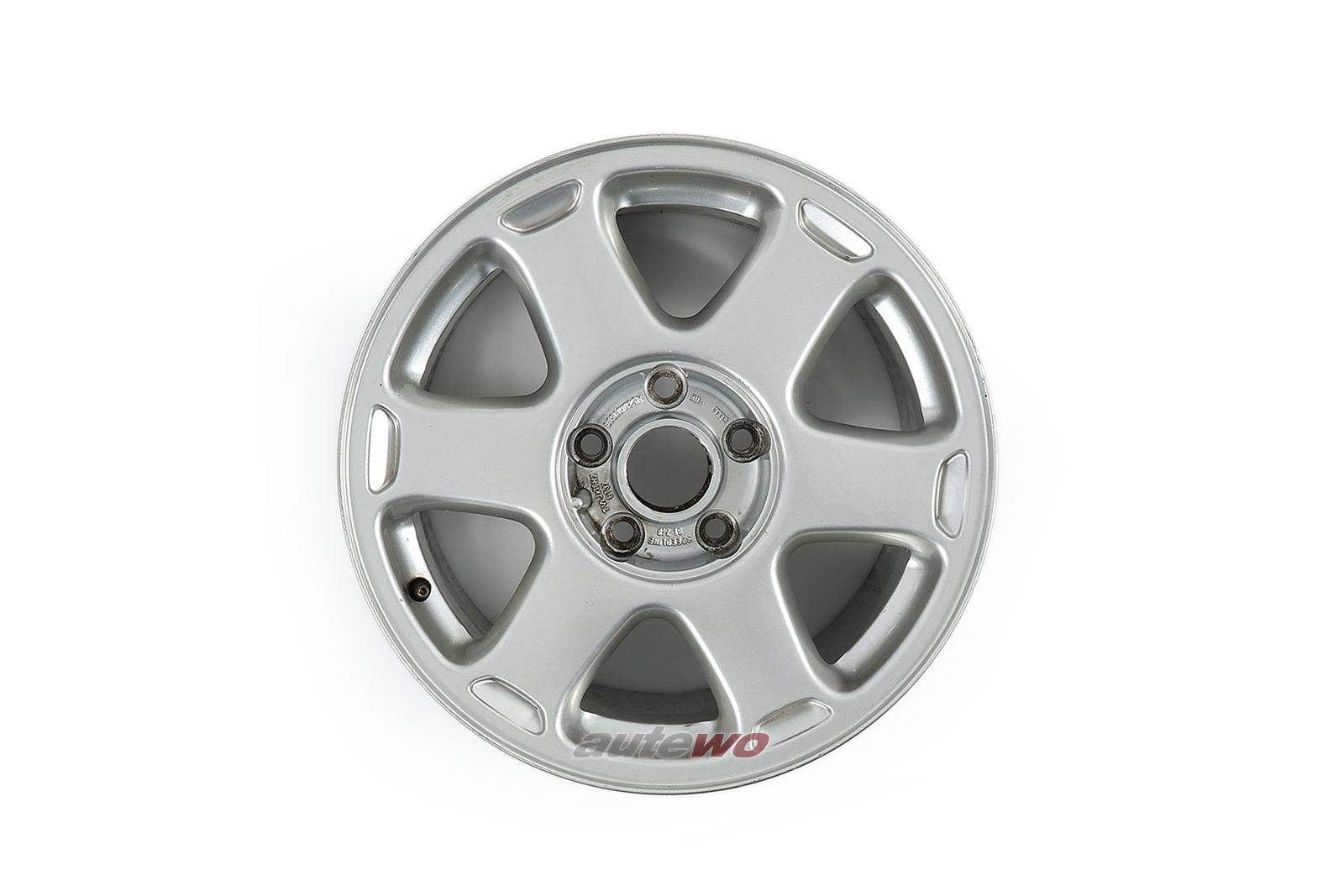 895601025M Audi Coupe 89/B4/S2/S4/S6 C4 AVUS 6-Speichen-Felge 7,5x16 ET37 5x112