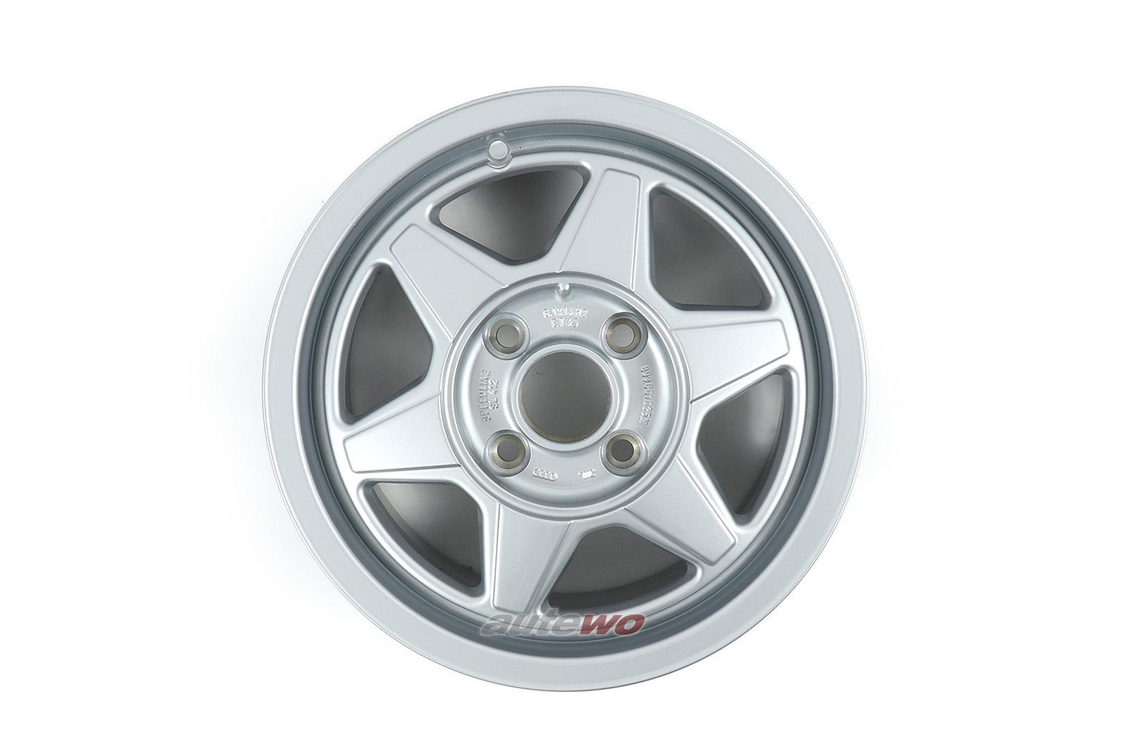 893601025N NEU Audi 80/90 89/100 44 Speedline 6-Speichen-Felge 6x14 ET45 4x108