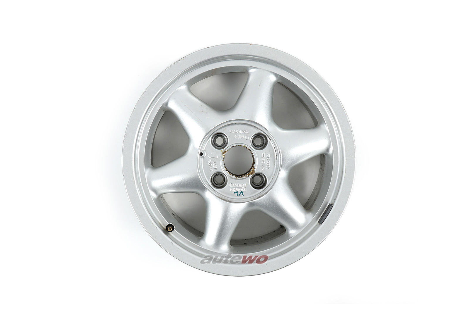 8A0601025N Audi 80 B4 16V Competition 6-Speichen-Felge 7x16 ET37 4x108
