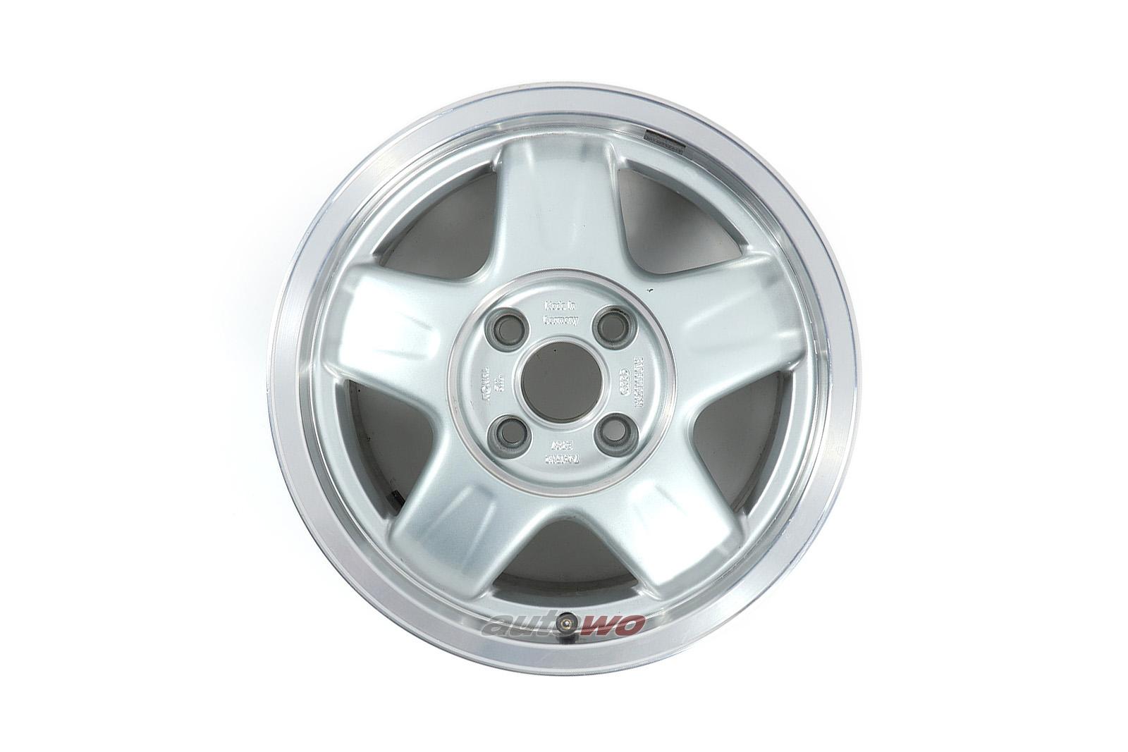 8A0601025M Audi 80 B4/Coupe/Cabrio Sport 5-Speichen-Alufelge 7x15 ET37 4x108