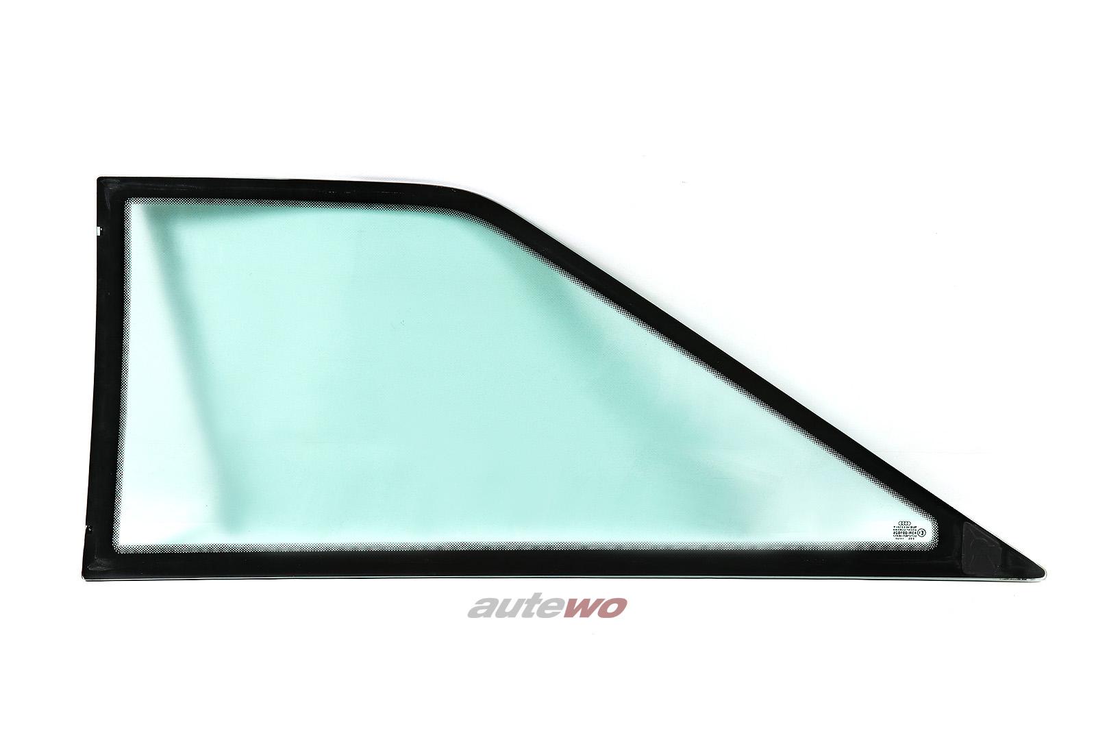 895845300K Audi Coupe Typ 89/S2 Seitenscheibe Hinten Rechts grün
