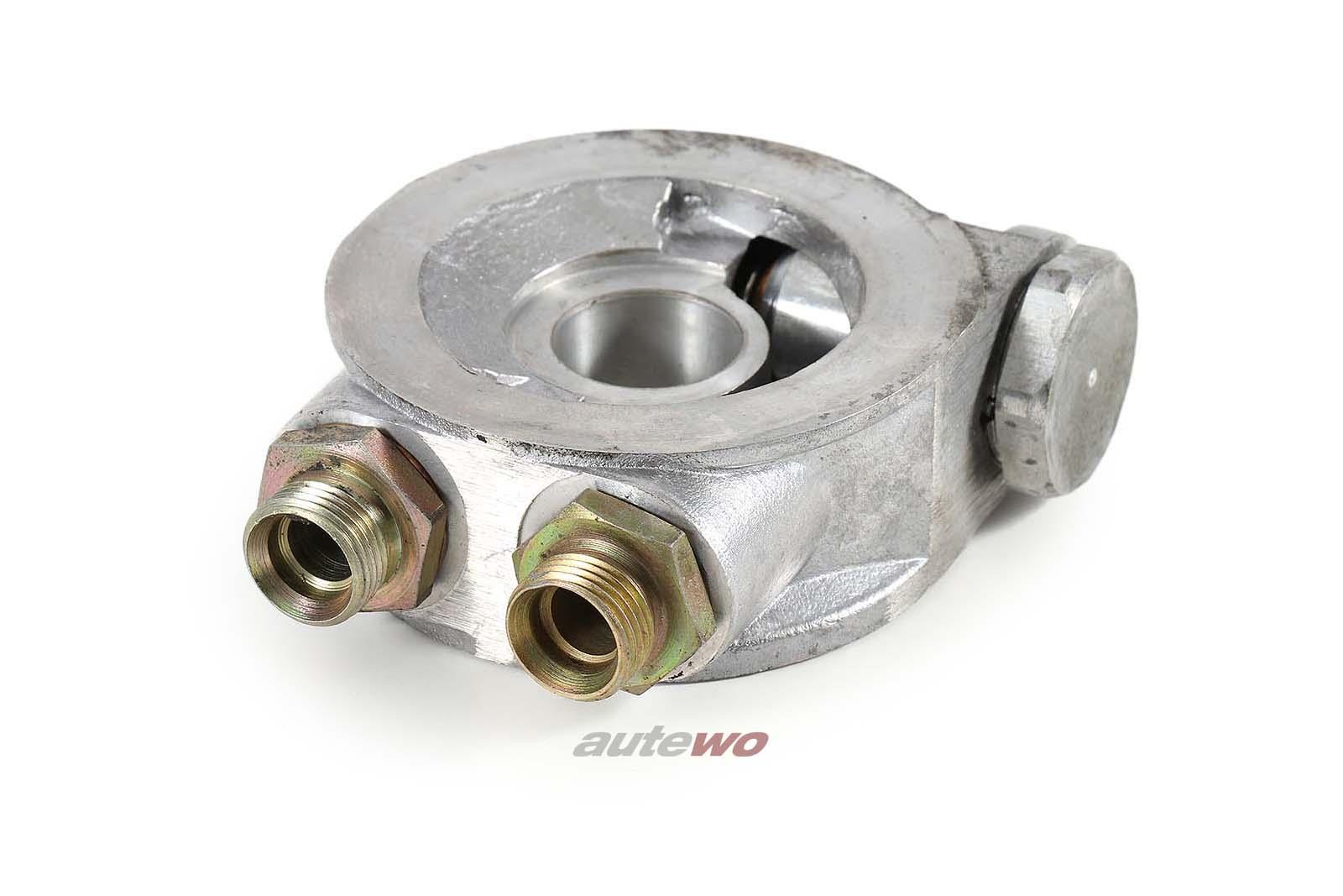 Mocal Ölkühler Adapterplatte/Anschlussflansch für Audi/VW Turbomotoren