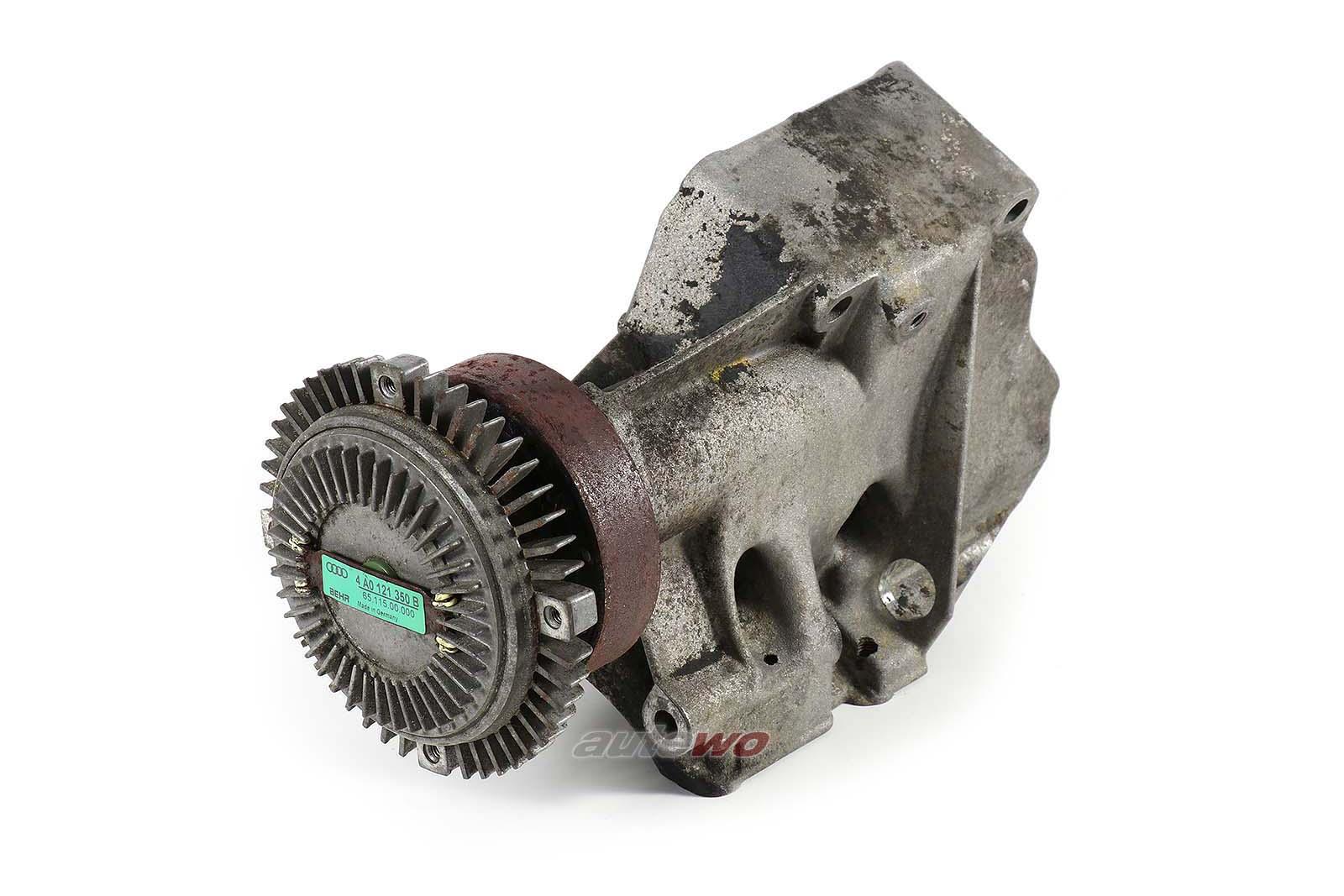 046903141D & 4A0121350B Audi 100/A6/S4/S6 C4 5 Zylinder Halter + Viskokupplung
