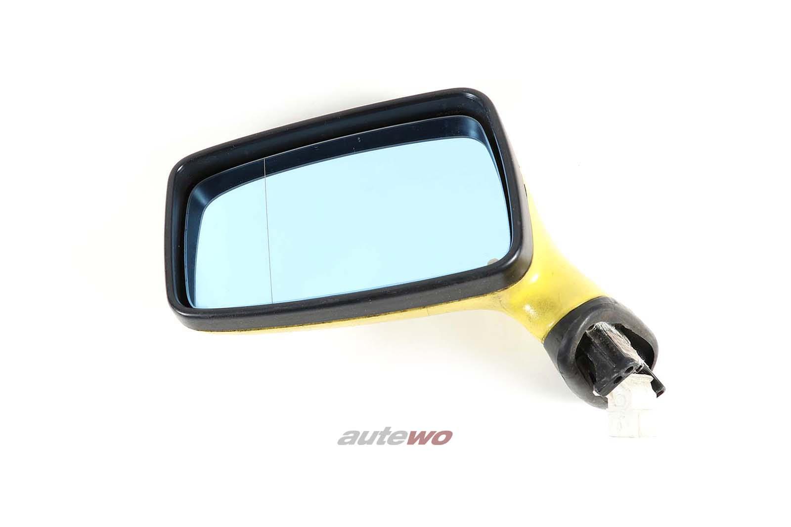 893857501H Audi 80/90/Coupe/Cabrio 89/B4 elektr. Außenspiegel Links gelb