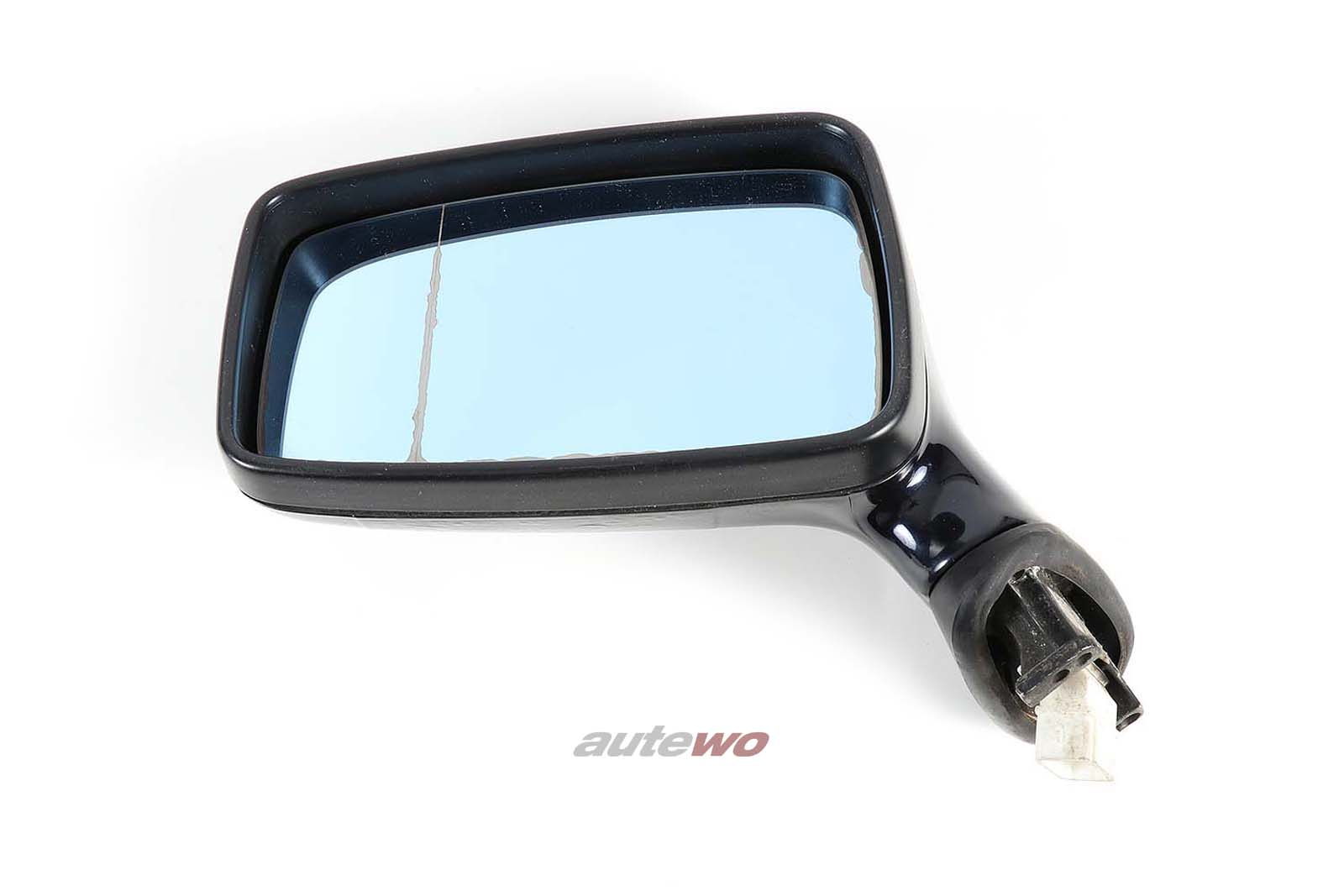893857501H Audi 80/90/Coupe/Cabrio 89/B4 elektr. Außenspiegel Links dunkelblau