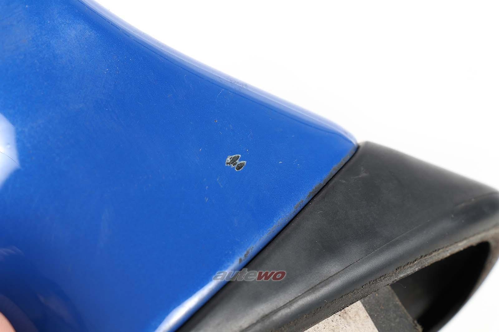 893857501H Audi 80/90/Coupe/Cabrio 89/B4 elektr. Außenspiegel Links blau