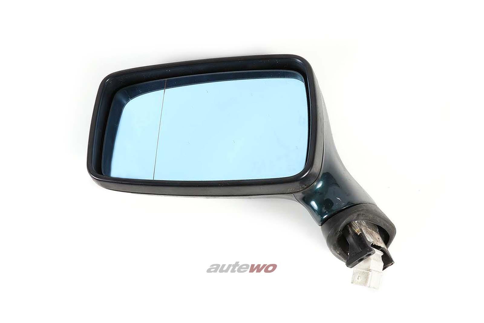 893857501H Audi 80/90/Coupe/Cabrio 89/B4 elektr. Außenspiegel Links dunkelgrün