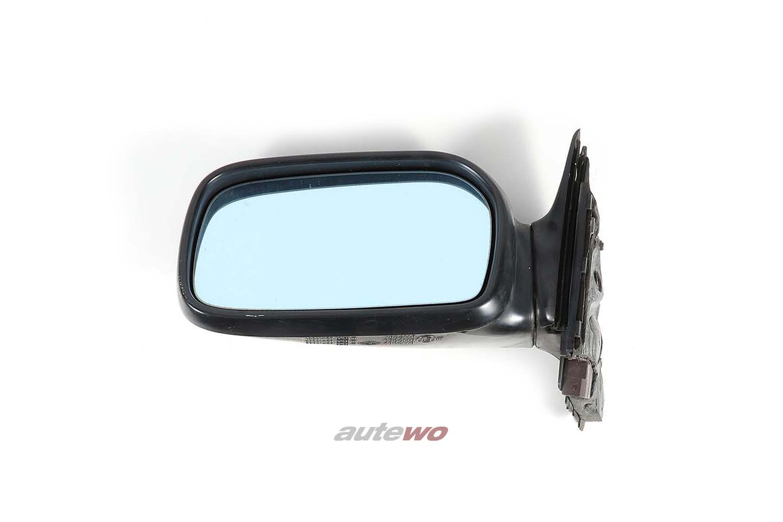 4A1857501H Audi 100/S4 C4 elektr. Außenspiegel Links schwarz