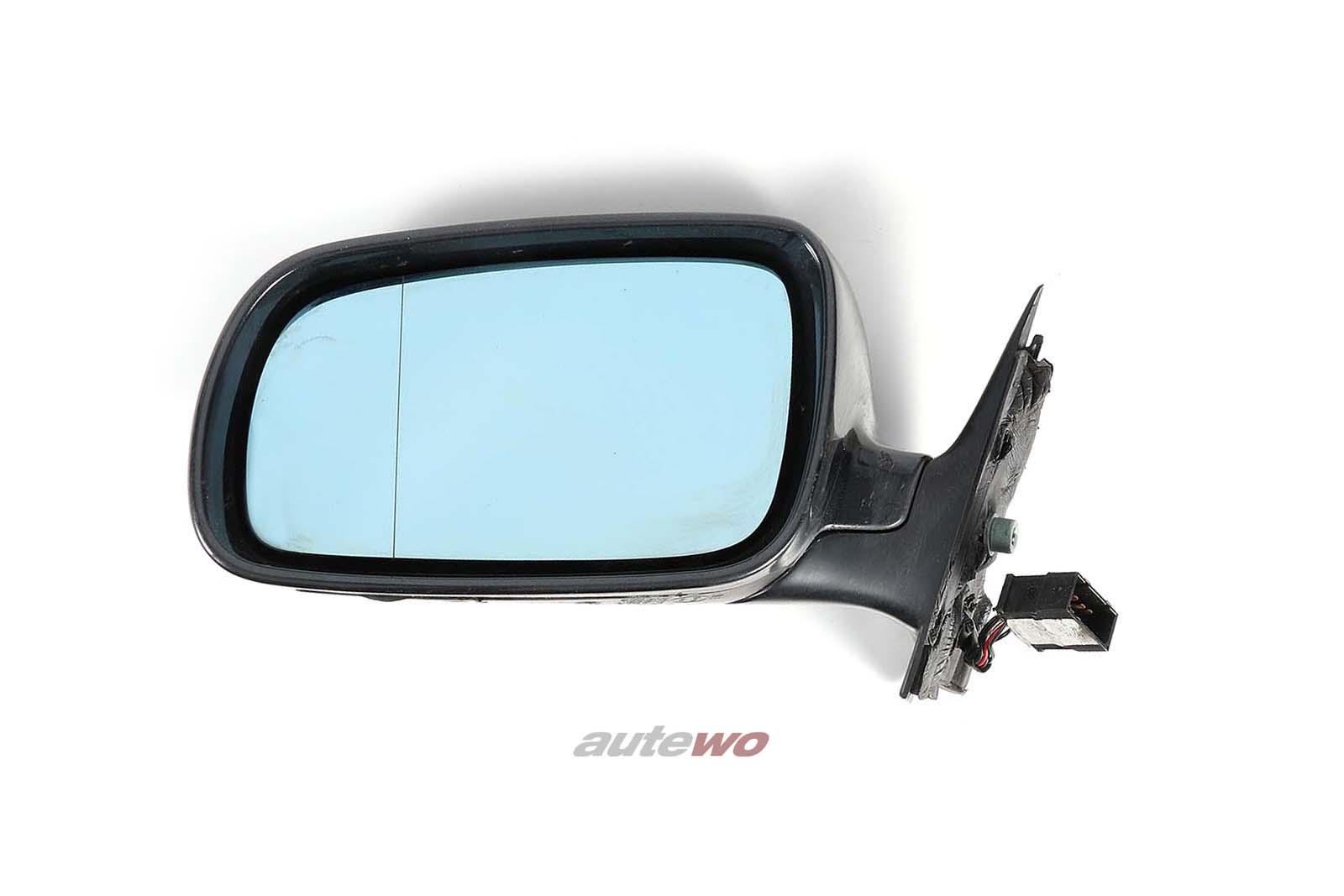 8D1858531C Audi A4/S4 B5 elektr. Außenspiegel Links schwarz