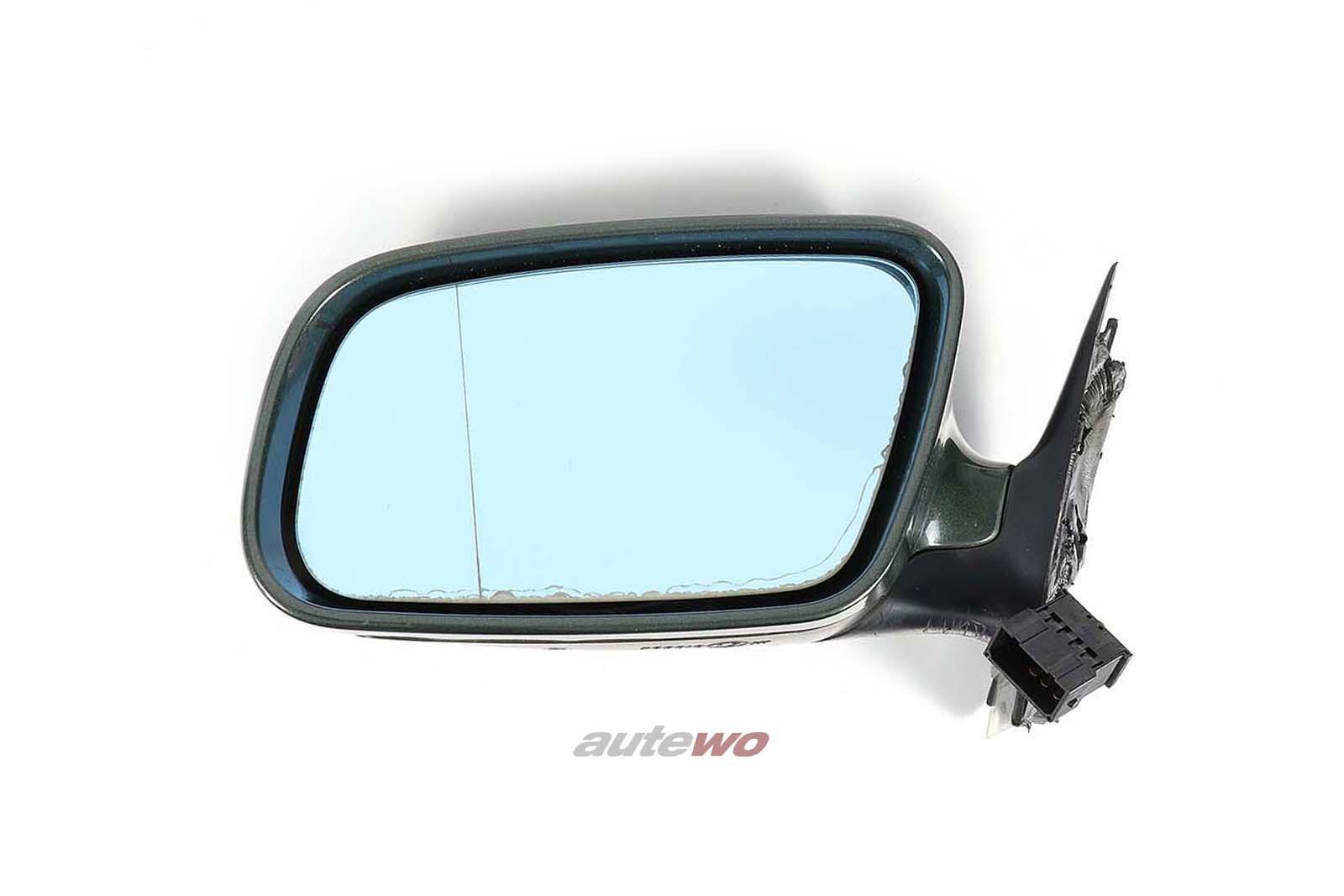 8D1858531J Audi A4/S4 B5 elektr. Außenspiegel Links dunkelgrün
