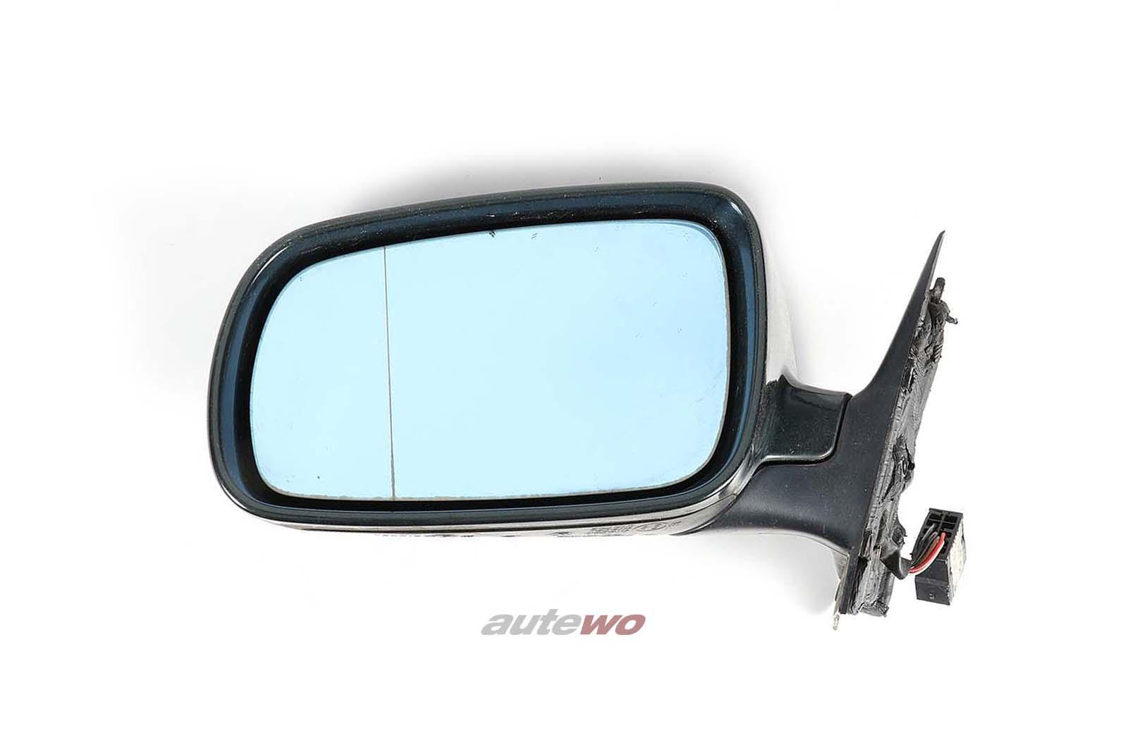 8D1858531C Audi A4/S4 B5 elektr. Außenspiegel Links dunkelgrün