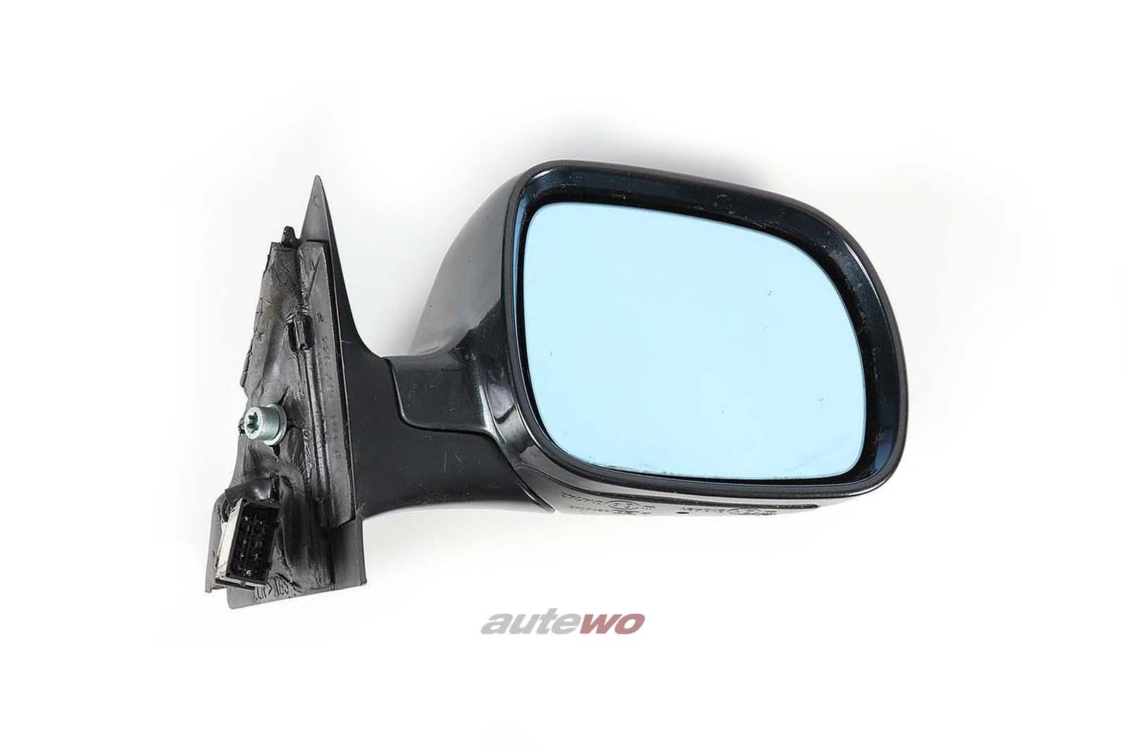 8D1858532C Audi A4/S4 B5 elektr. Außenspiegel Rechts schwarz