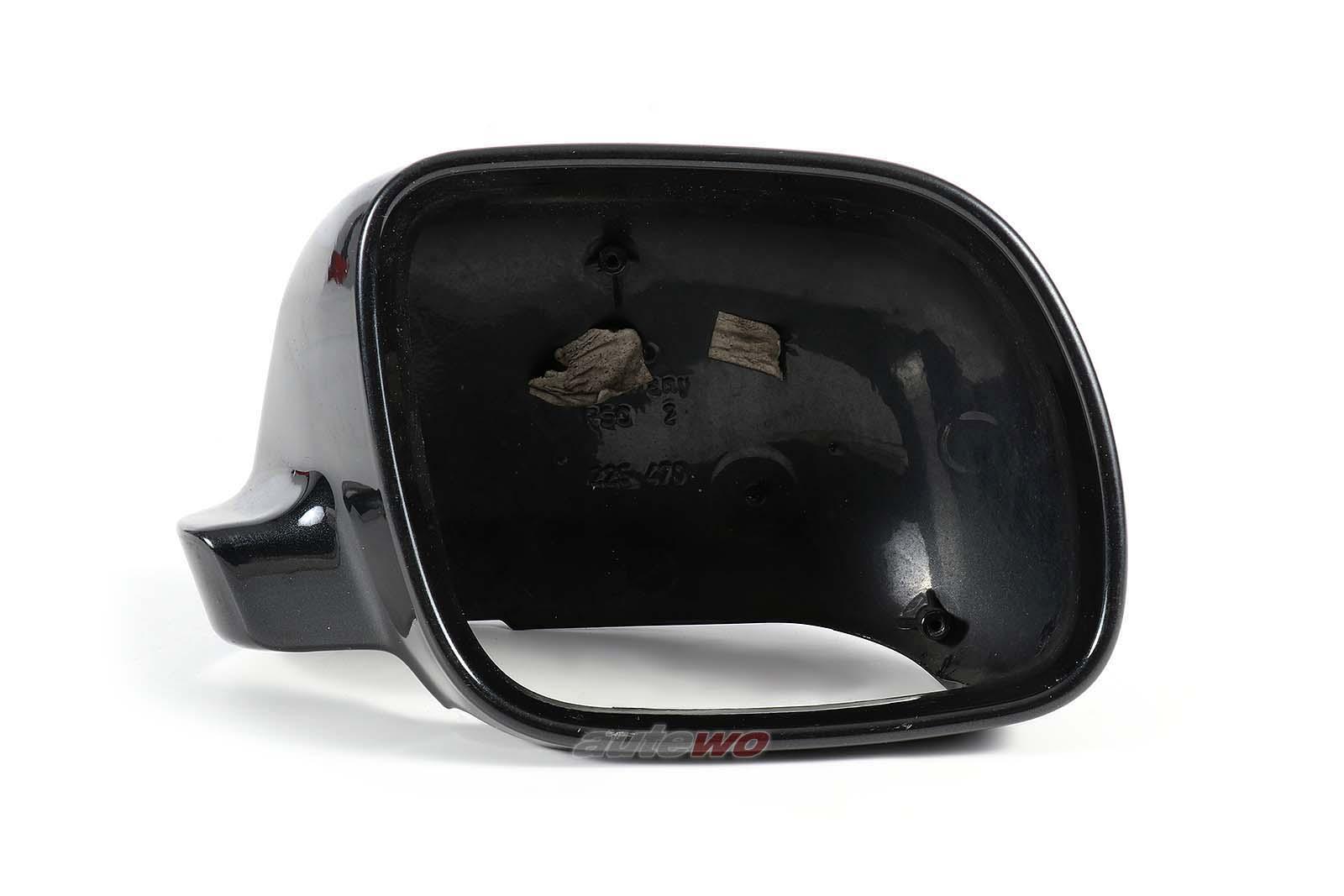 4A1857508 Audi A3/A4/A6/A8 Abdeckkappe Außenspiegel Rechts schwarz