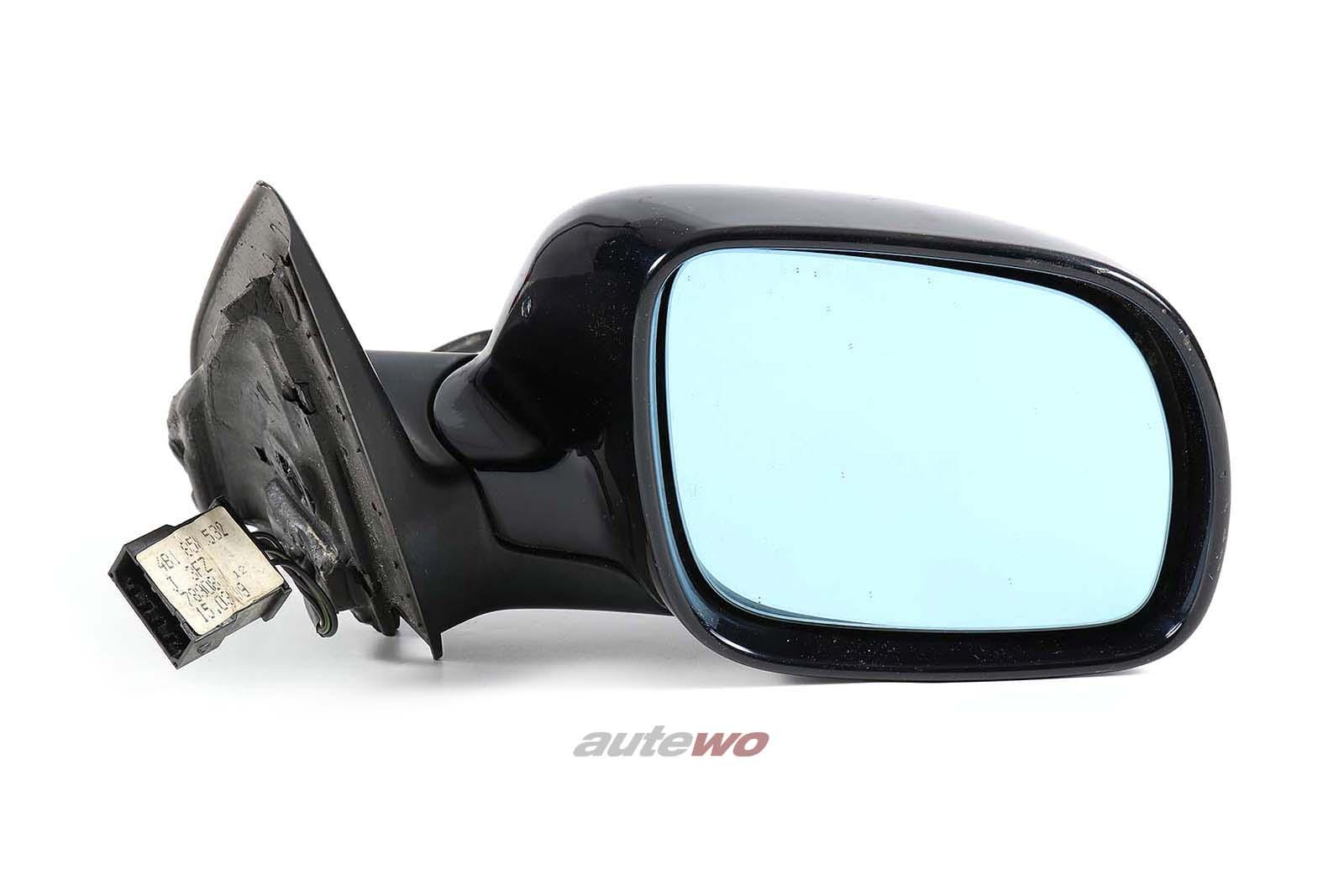 4B1858532J Audi A6/S6 4B elektr. Außenspiegel + Memory Rechts schwarz