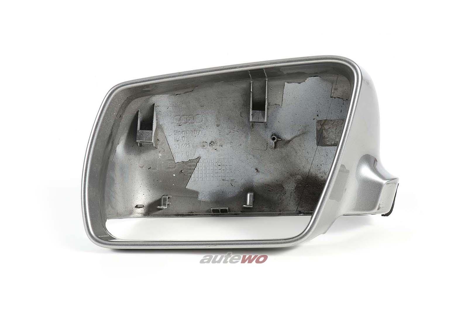 4Z7857507 Audi A6 Allroad 4B Abdeckkappe Außenspiegel Links LY7Q atlasgrau