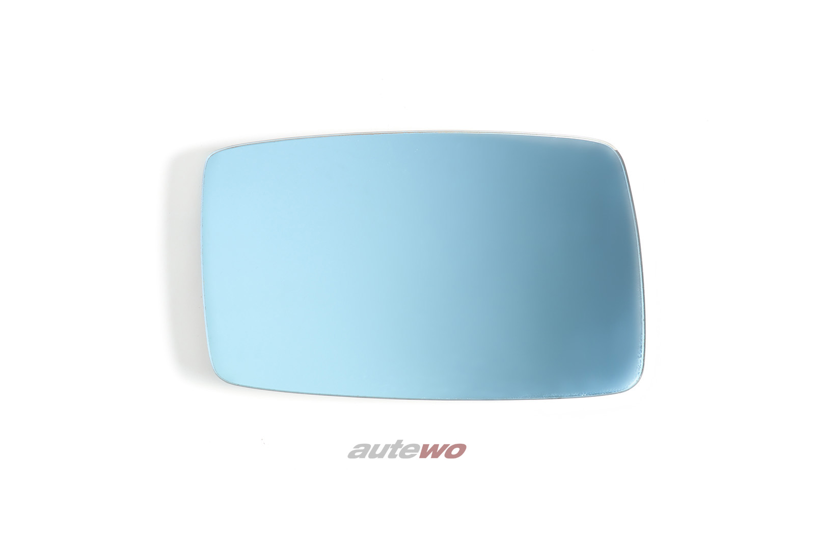 893857536D Audi 80/90/Coupe/S2/Cabrio Typ 89/B4 Spiegelglas beheizbar konvex