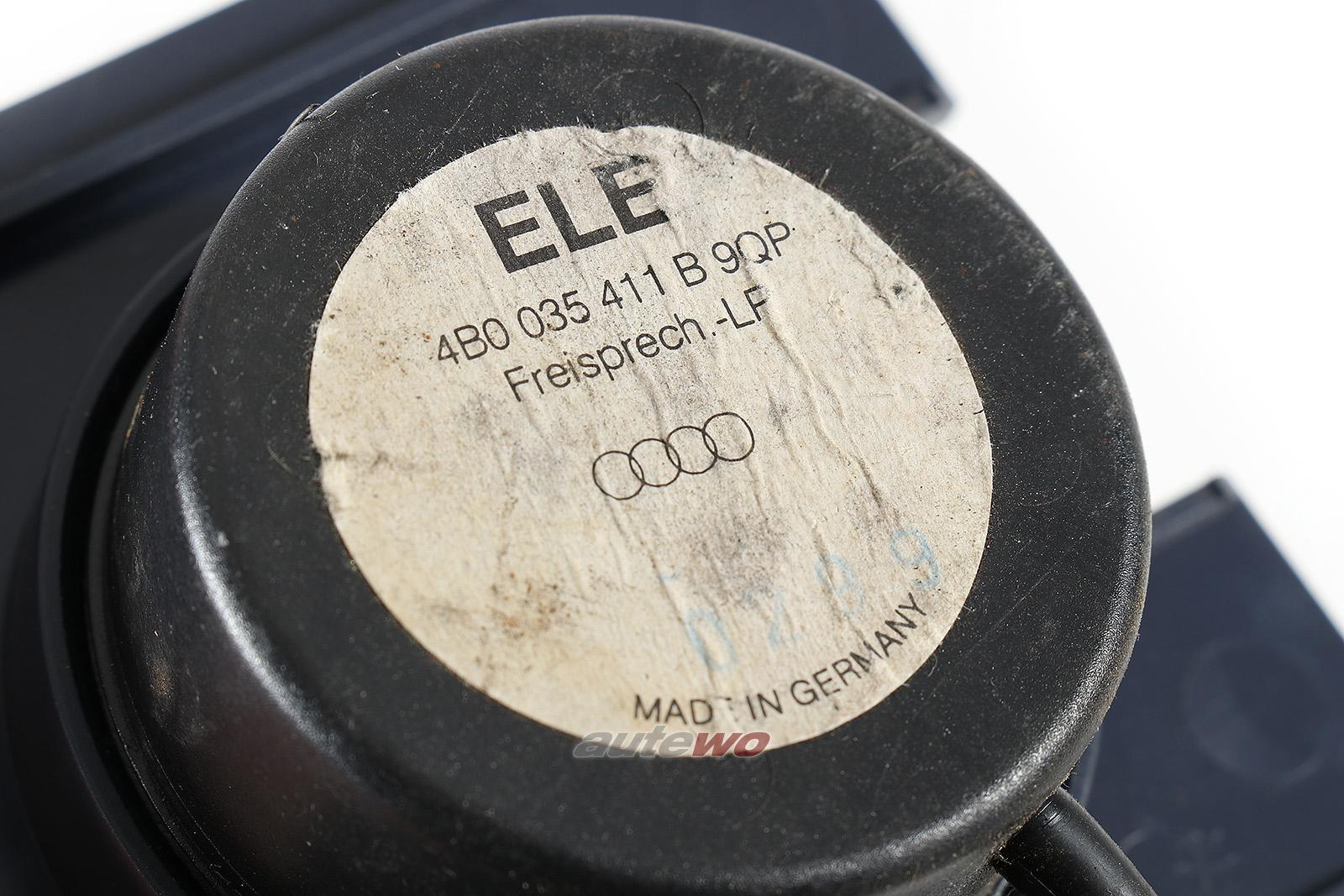 4B0035411B Audi A2 8Z/A6/S6/RS6/Allroad 4B Freisprech-/Not-Lautsprecher