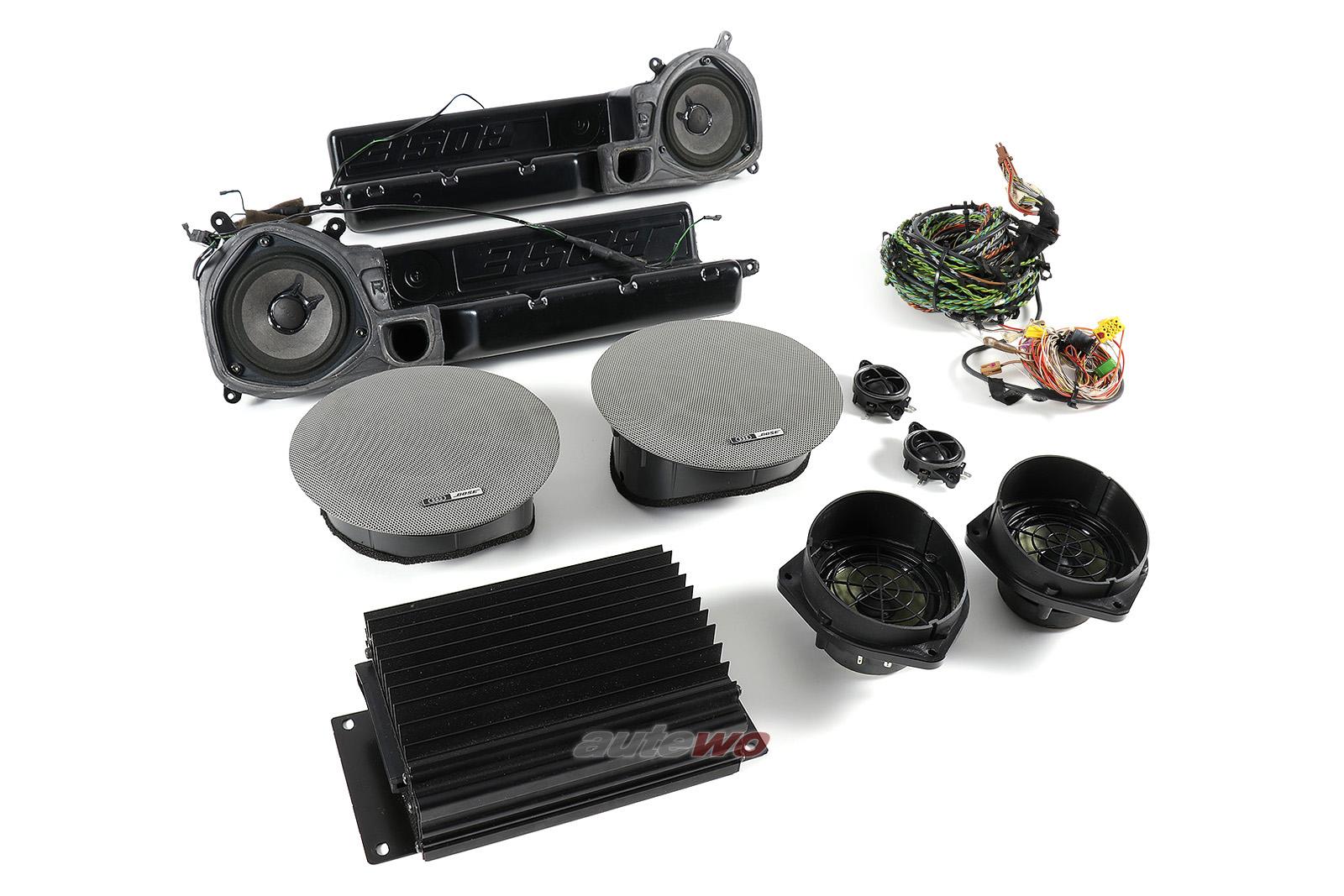 Audi A8 D2 BOSE-Soundsystem inkl. Lautsprecher/Verstärker/Kabelbaum