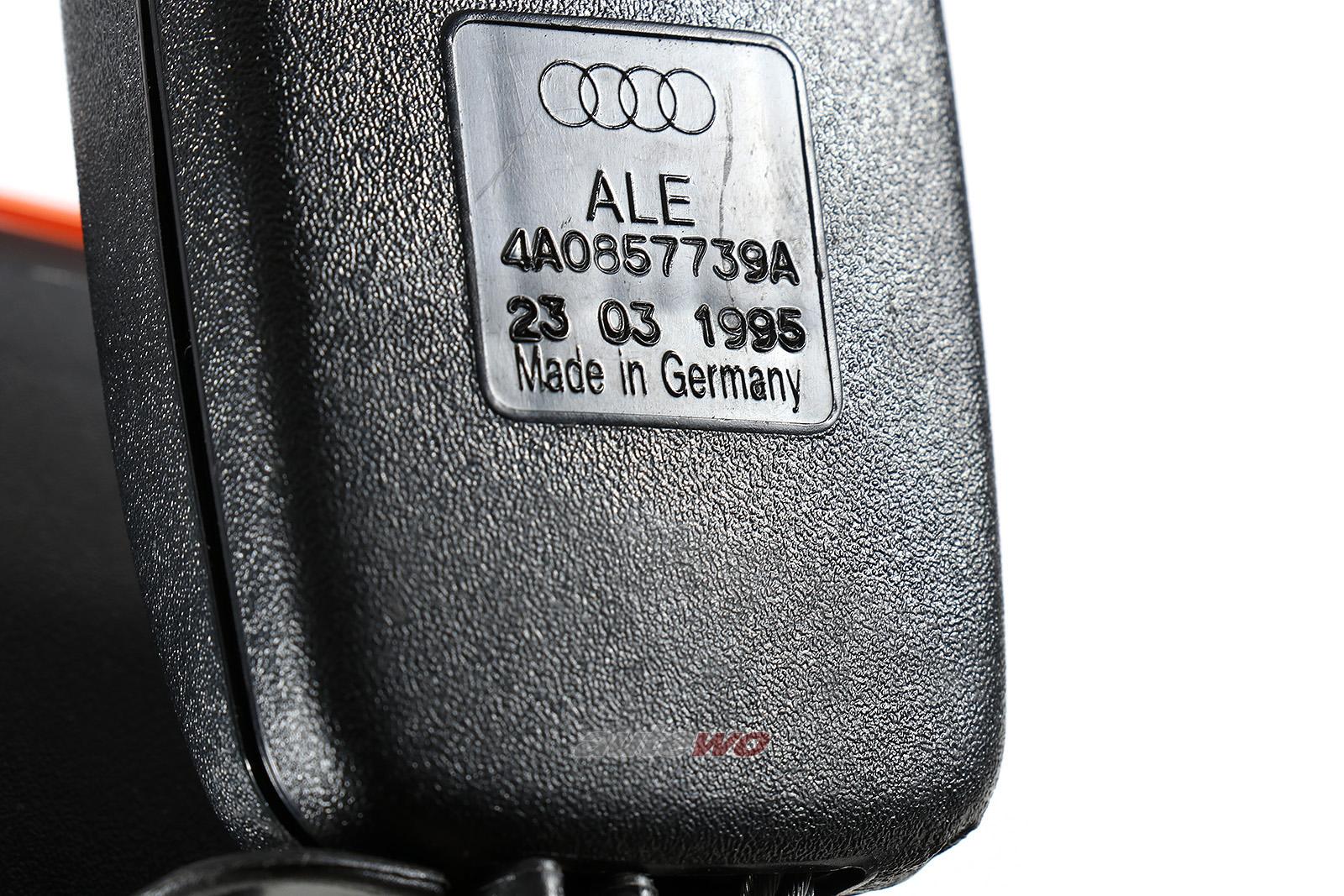 4A0857739A Audi 100/S4/A6/S6+ C4 Limousine Gurtschloss Hinten Mitte