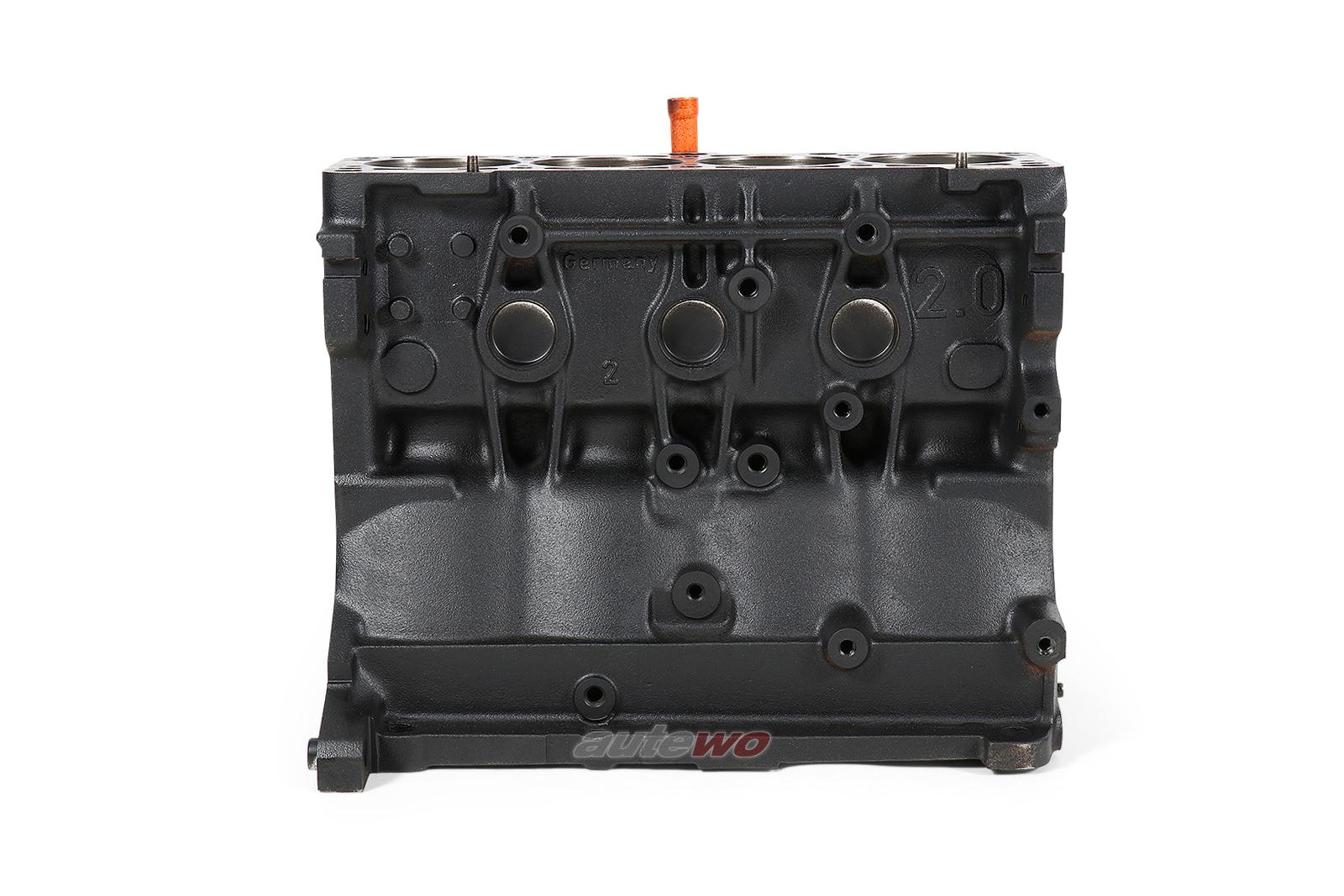 048703021D Audi 80 B4/Coupe/Cabrio Typ 89/100/A6 C4 2.0l ABK 249176 Motorblock