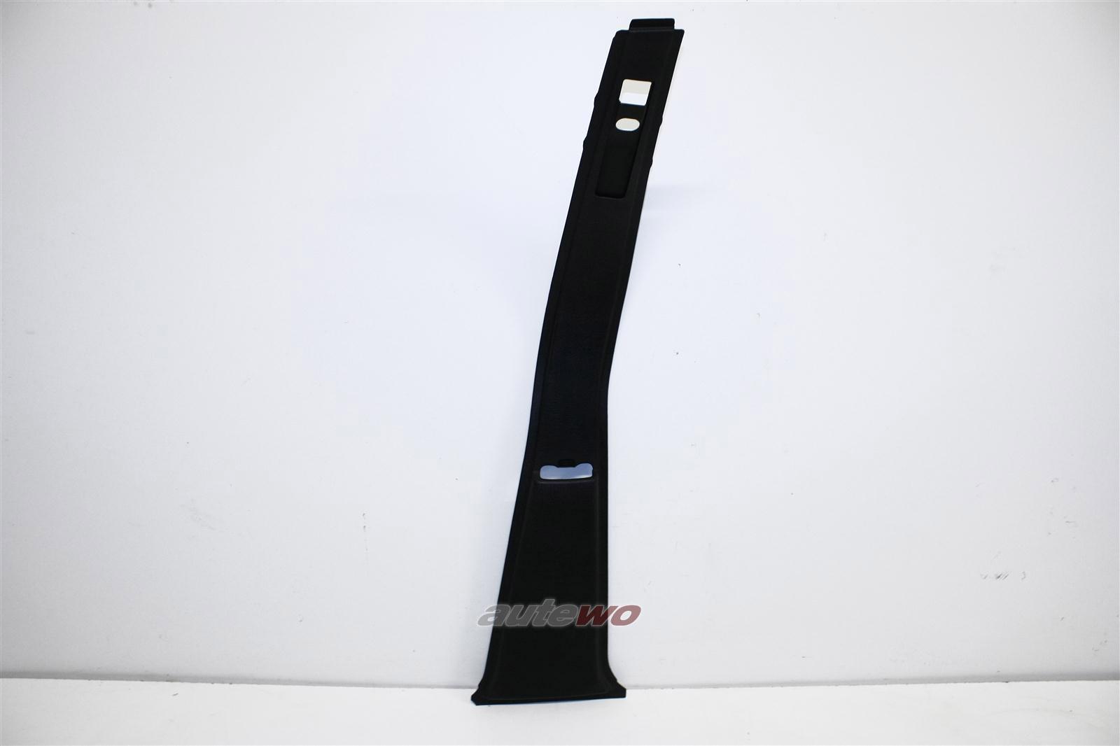 Audi 100/200 Typ 44 B-Säulen-Verkleidung Rechts 01C schwarz