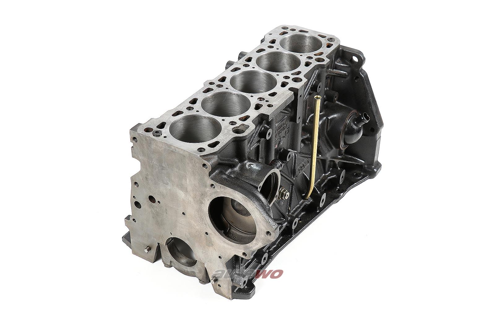 054103021 NEU Audi/VW 90/Coupe Typ 81/85/Passat 32B 5 Zyl. Motorblock 81,5mm