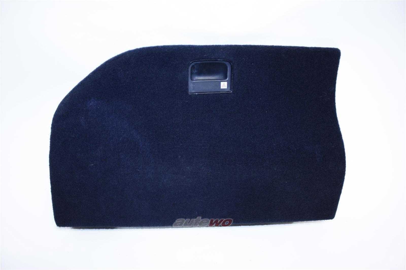 Audi 100/A6 C4 Avant Deckel Kofferraumverkleidung Links anthrazit 4A9863715