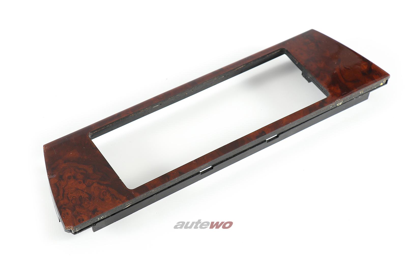 4A0820325C 4A0820325D Audi 100/S4/A6/S6+ C4 Blende Klimatronic Nussbaum Holz