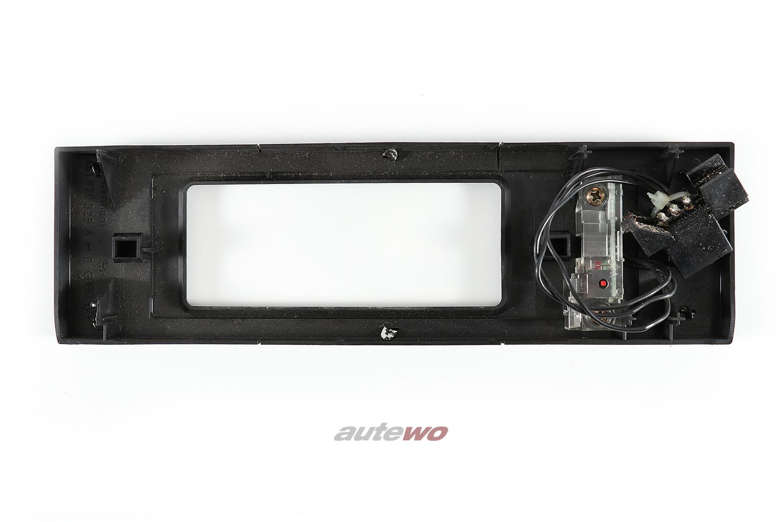 441820325A 441820325C Audi V8 D11 Blende Klimatronic Wurzelholz nussbaum