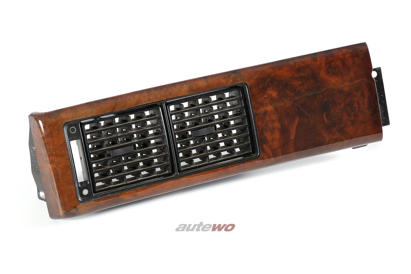 441853191A Audi V8 D11 Wurzelholzblende für Armaturenbrett Links nussbaum
