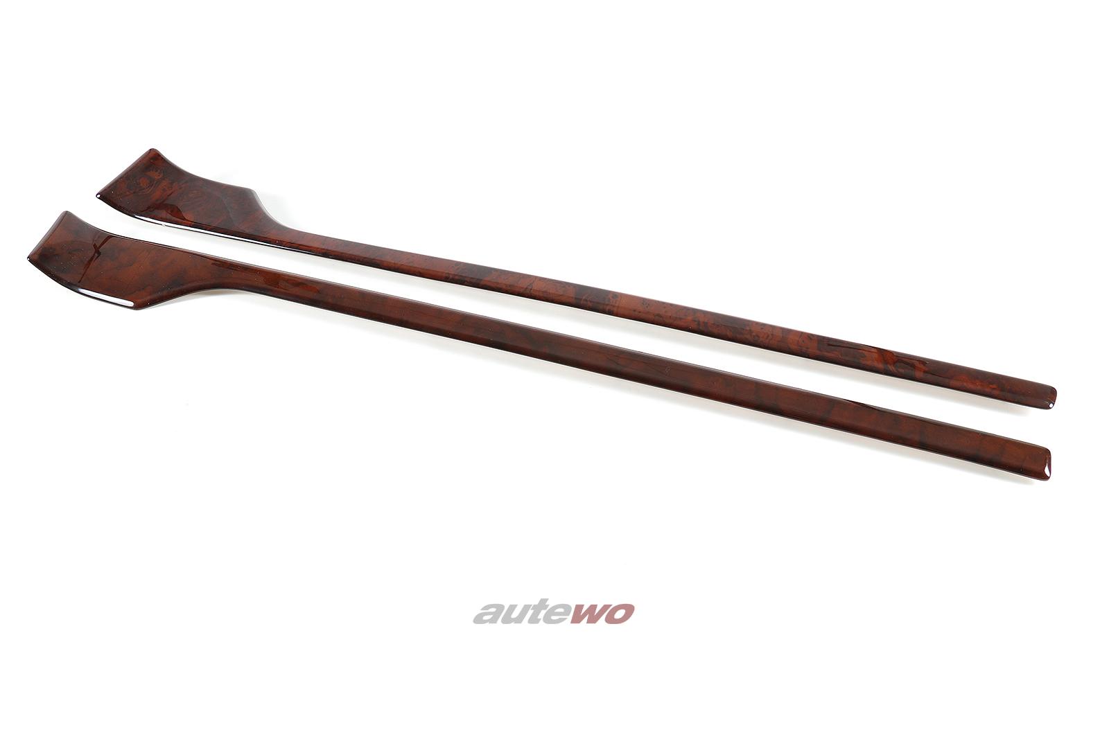 8G0853053/8G0853054 Audi Coupe/Cabrio 89 Wurzelholzblenden Türverkleidungen