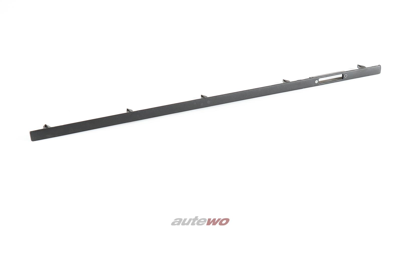 443853190A Audi 100 Typ 44 Zierleiste Armaturenbrett Rechts satinschwarz