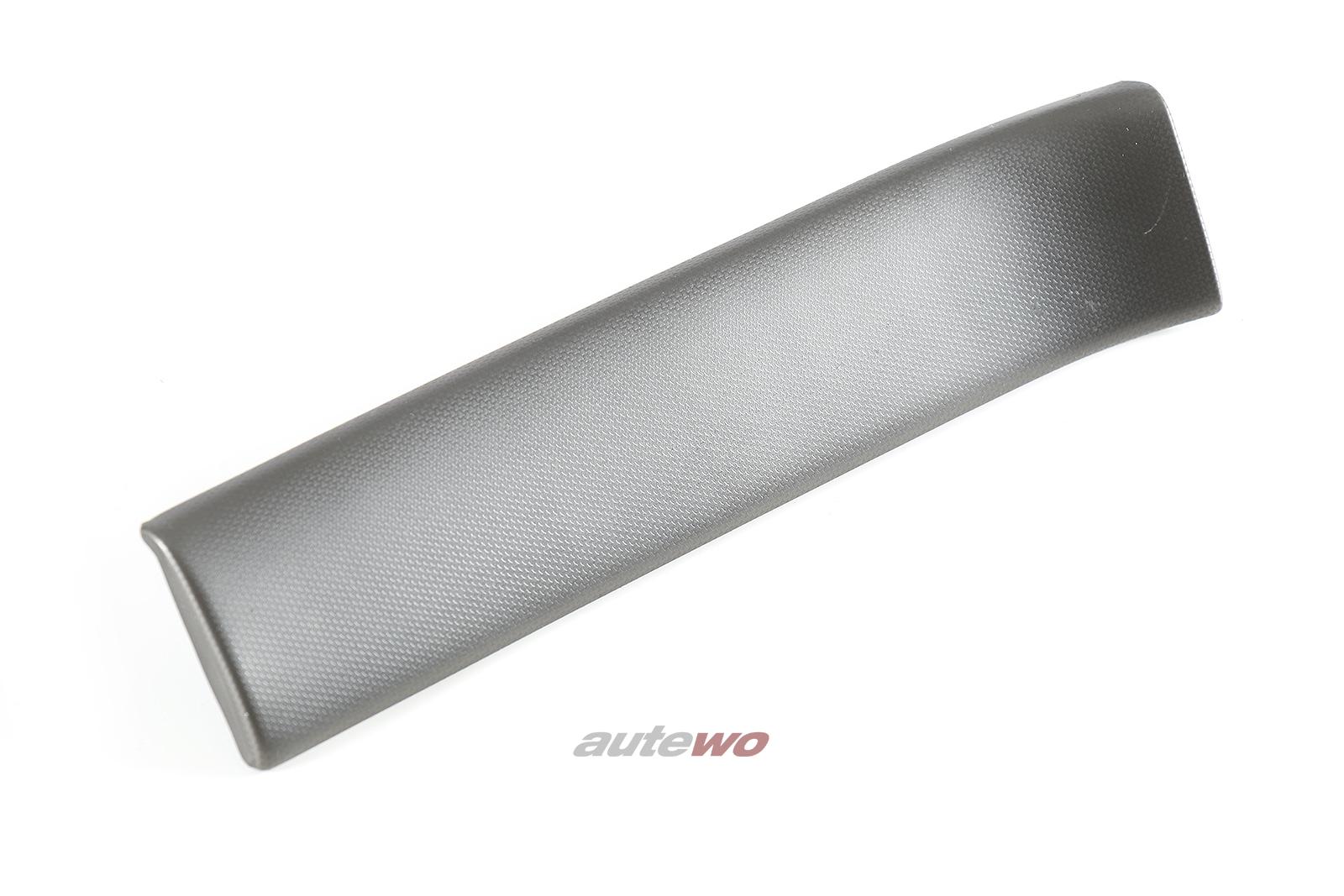 8D1853189A Audi A4 B5 Zierleiste für Armaturenbrett Links alu-silber