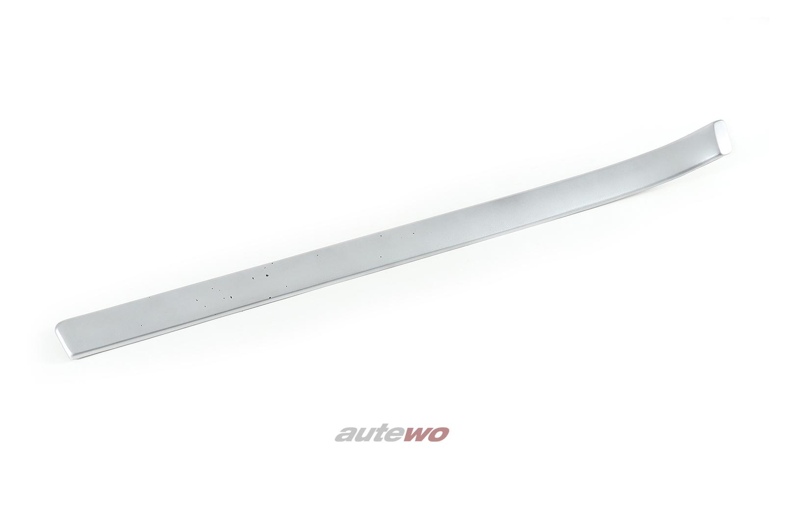 8D0867409 Audi A4/S4/RS4 B5 Dekorblende Türverkleidung Vorne Links silber