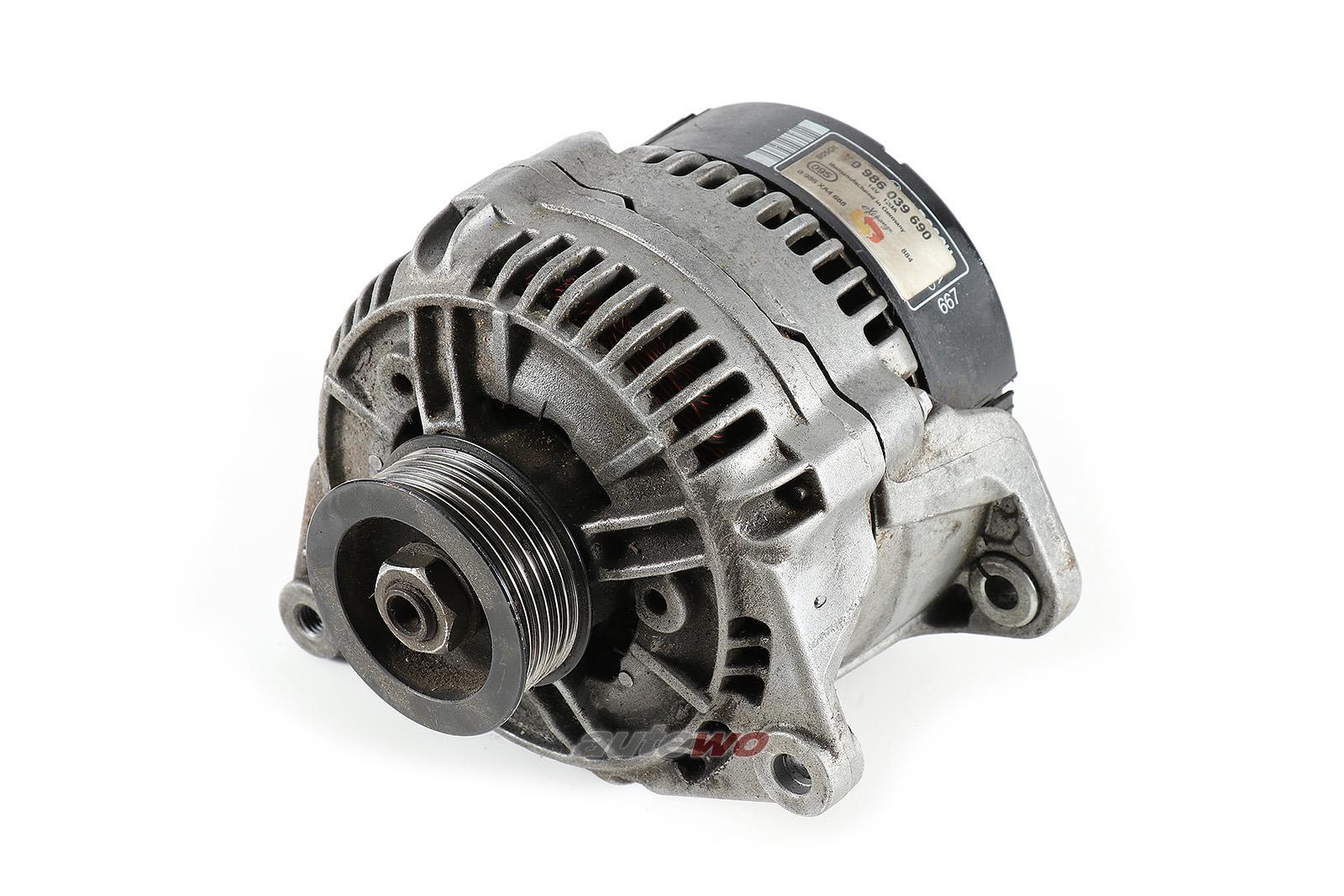 046903015F 0986039690 Audi 100/S4/A6/S6 C4 5 Zyl. Lichtmaschine 120A Bosch