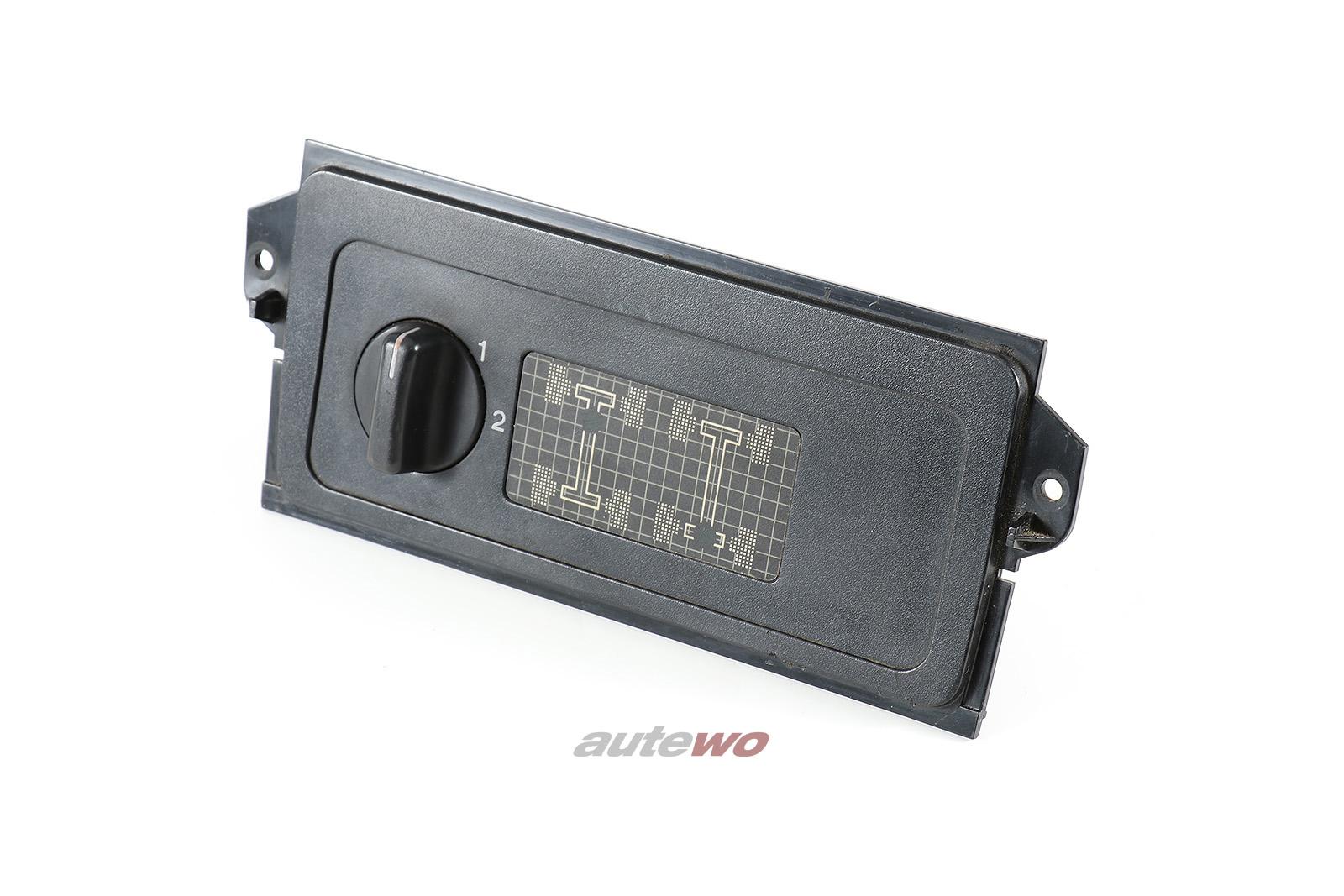 811919214 Audi 80/90 Typ 85 Quattro Anzeige + Schalter Differentialsperre