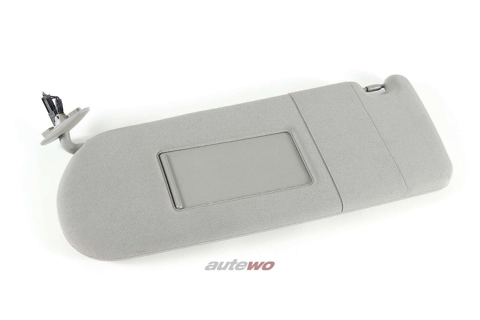 4D0857551H Audi A8 D2 Sonnenblende + beleuchteter Spiegel links