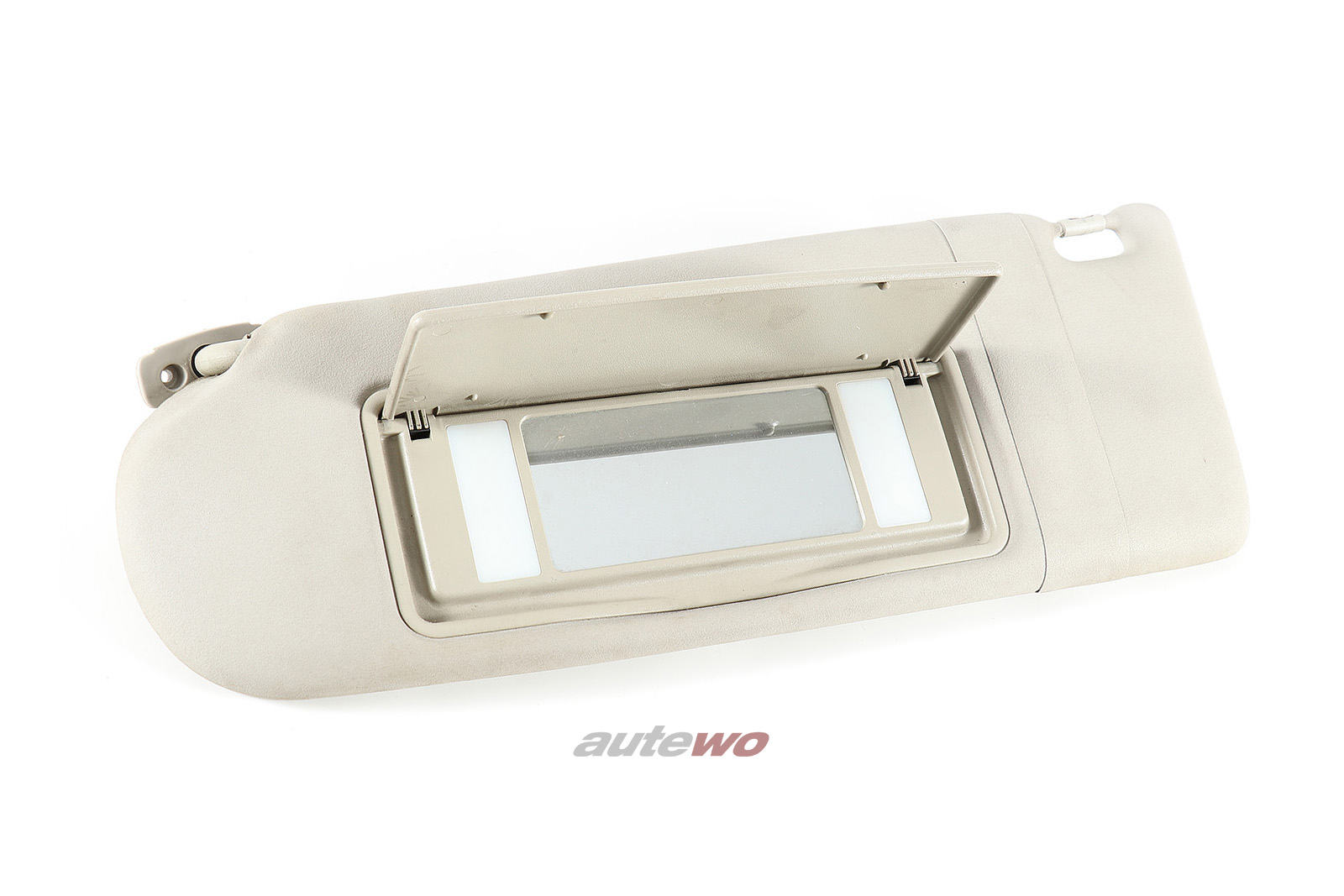 4D0857551A Audi 100/S4/A6/S6 C4/A8 D2 Sonnenblende + Spiegel links