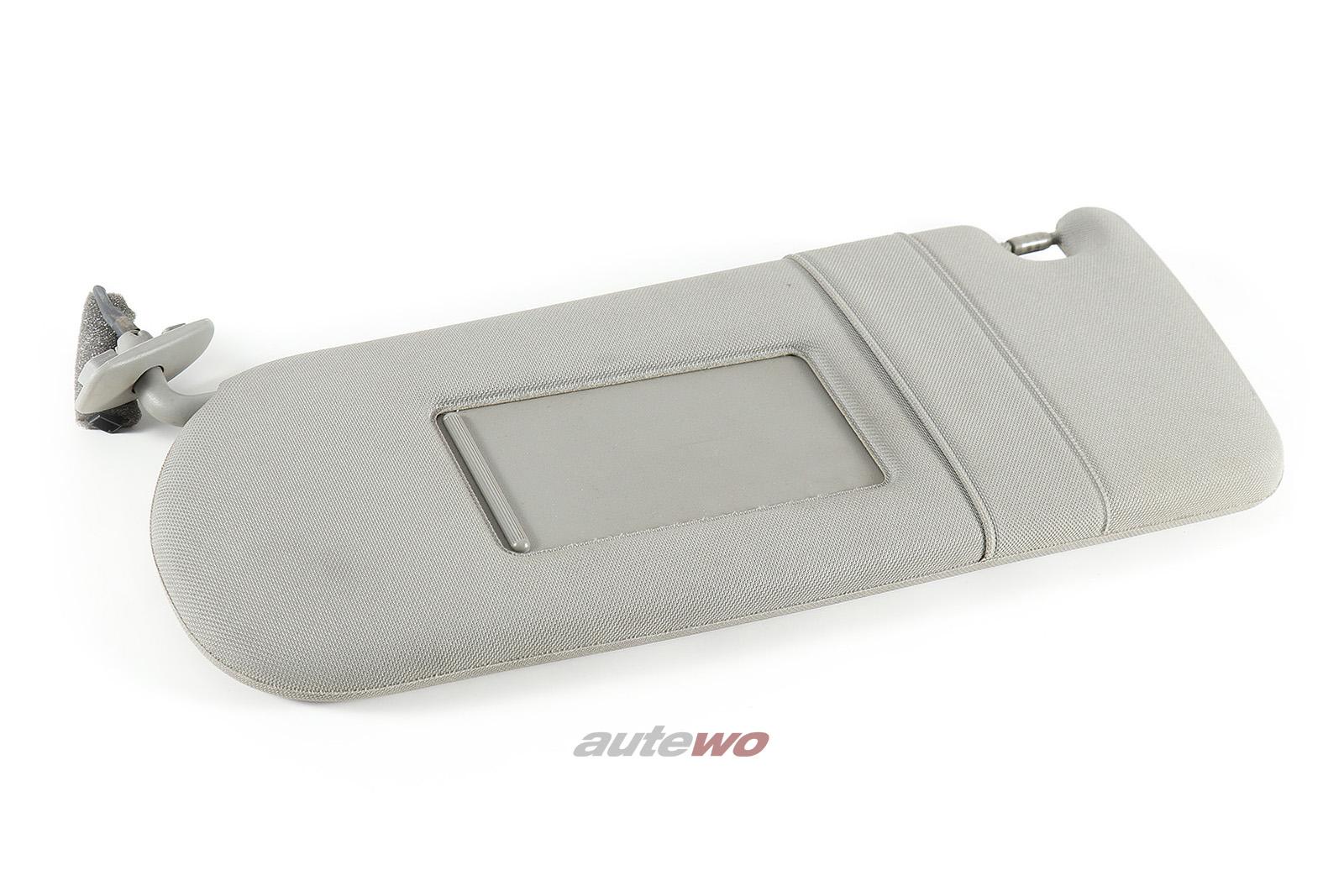 4D0857551AA Audi A8 D2 Sonnenblende + beleuchteter Spiegel links