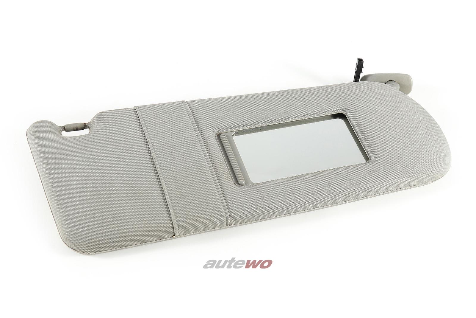 4D0857552AA Audi A8 D2 Sonnenblende + beleuchteter Spiegel Rechts