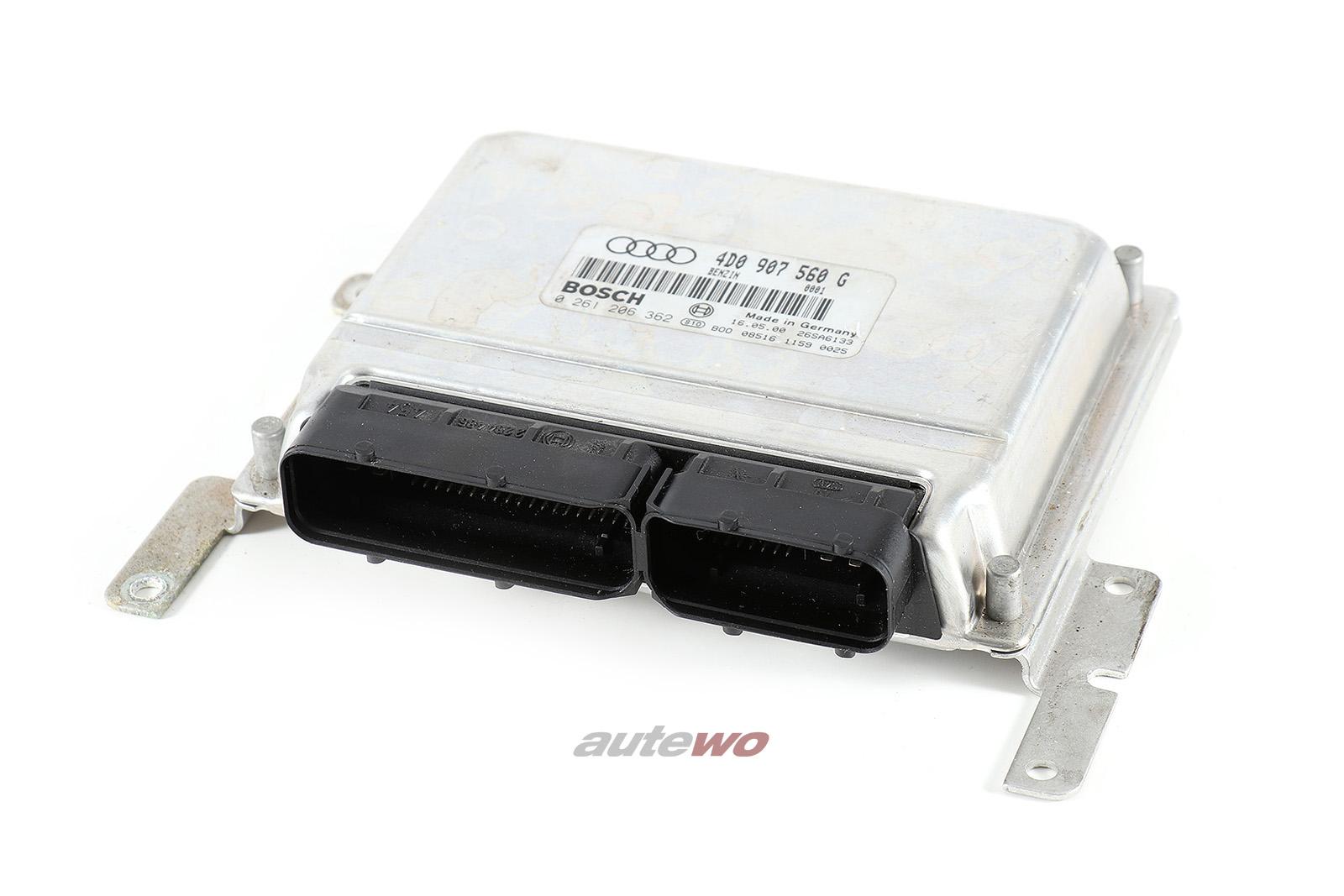 4D0907560G 4D0997561CX 0261206362 Audi A8 D2 4.2l AQF Motorsteuergerät