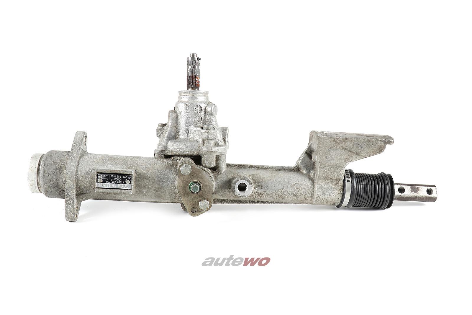 8A2422065F Audi 80 B4/Coupe/Cabrio 89/S2/RS2 Lenkgetriebe Rechtslenker/RHD
