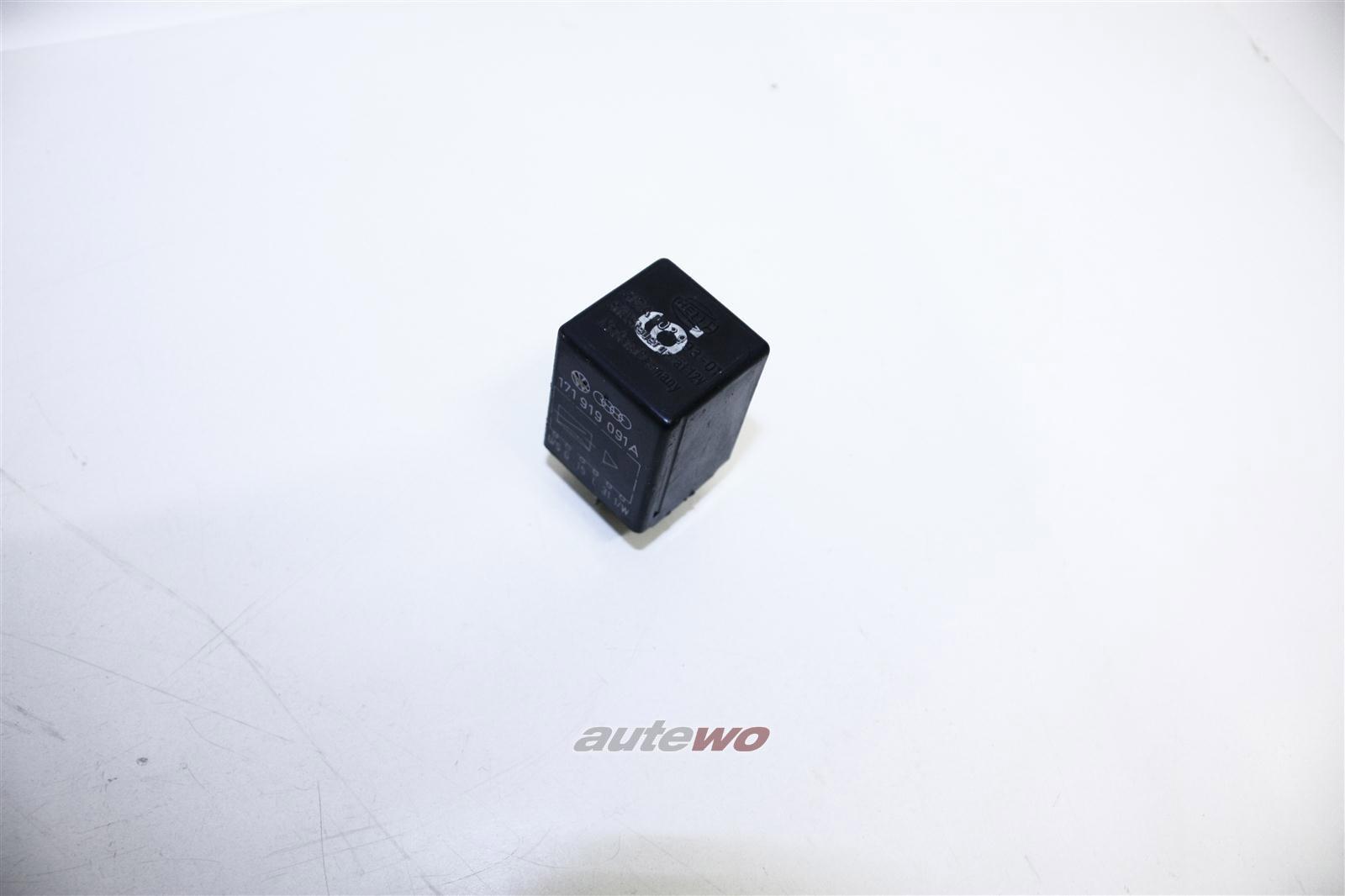Audi 80/90/100/200 5 Zylinder Relais 6 Schalt- & Verbrauchsanzeige 171919091A