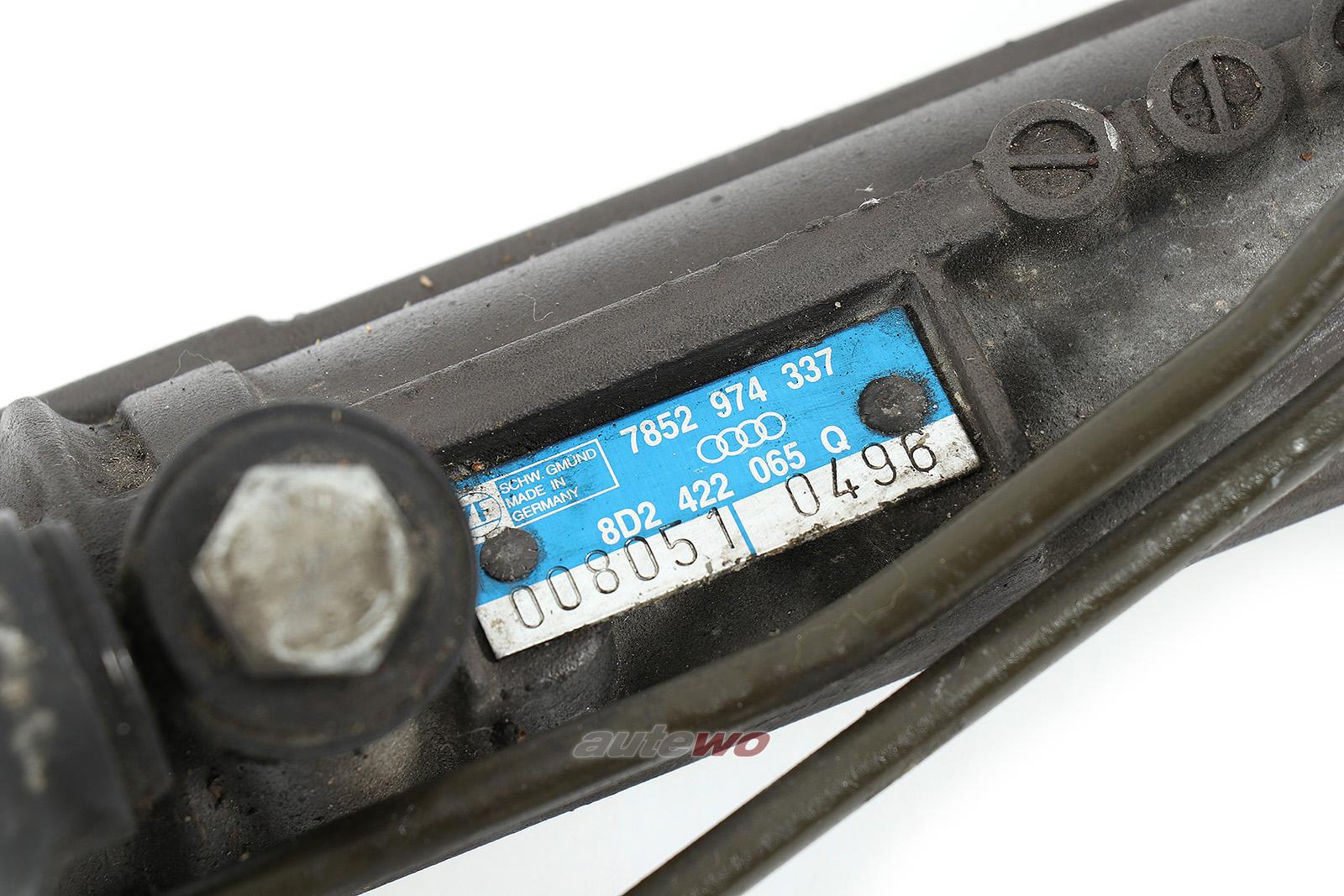 8D2422065Q Audi/VW A4 B5 V6 Lenkgetriebe Rechtslenker/RHD