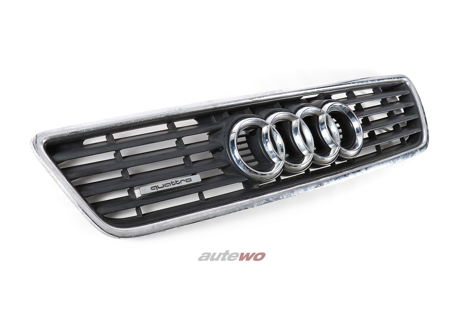 4A0853651C Audi A6/S6+ C4 Kühlergrill 3FZ schwarz