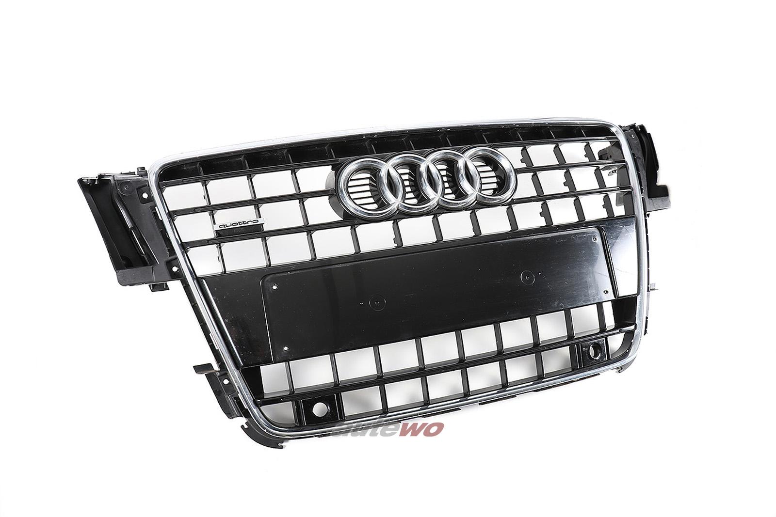 8T0853651E Audi A5 8T Kühlergrill T94 schwarz-glänzend