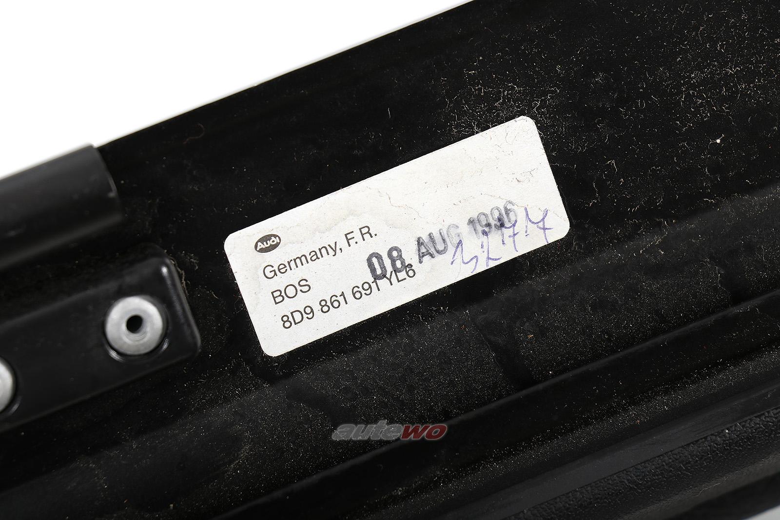 8D9861691 Audi A4 B5 Avant Netztrennwand YL6 anthrazit