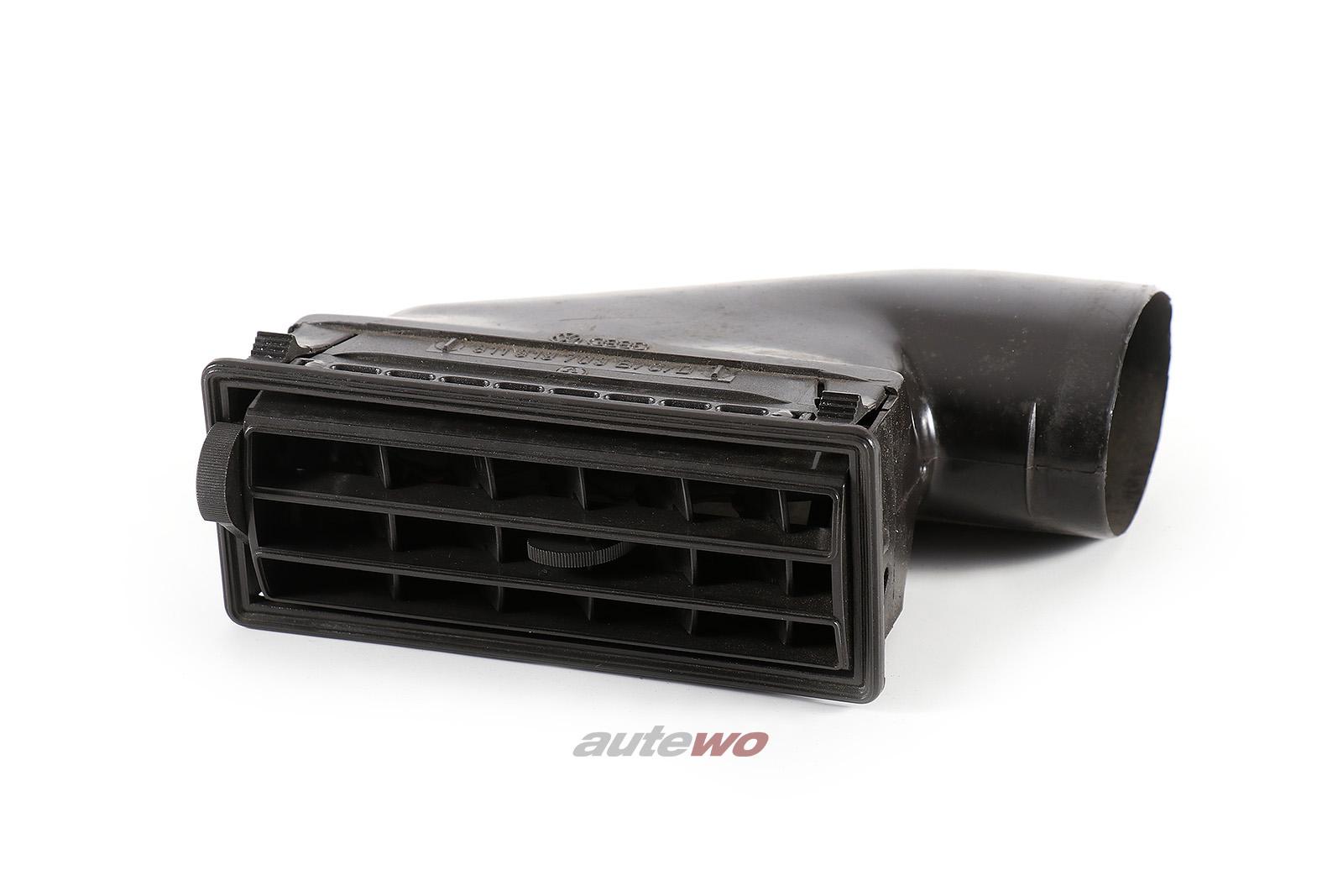 811819703B Audi 80/90/Coupe Typ 81/85 Luftdüse Armaturenbrett Links negro