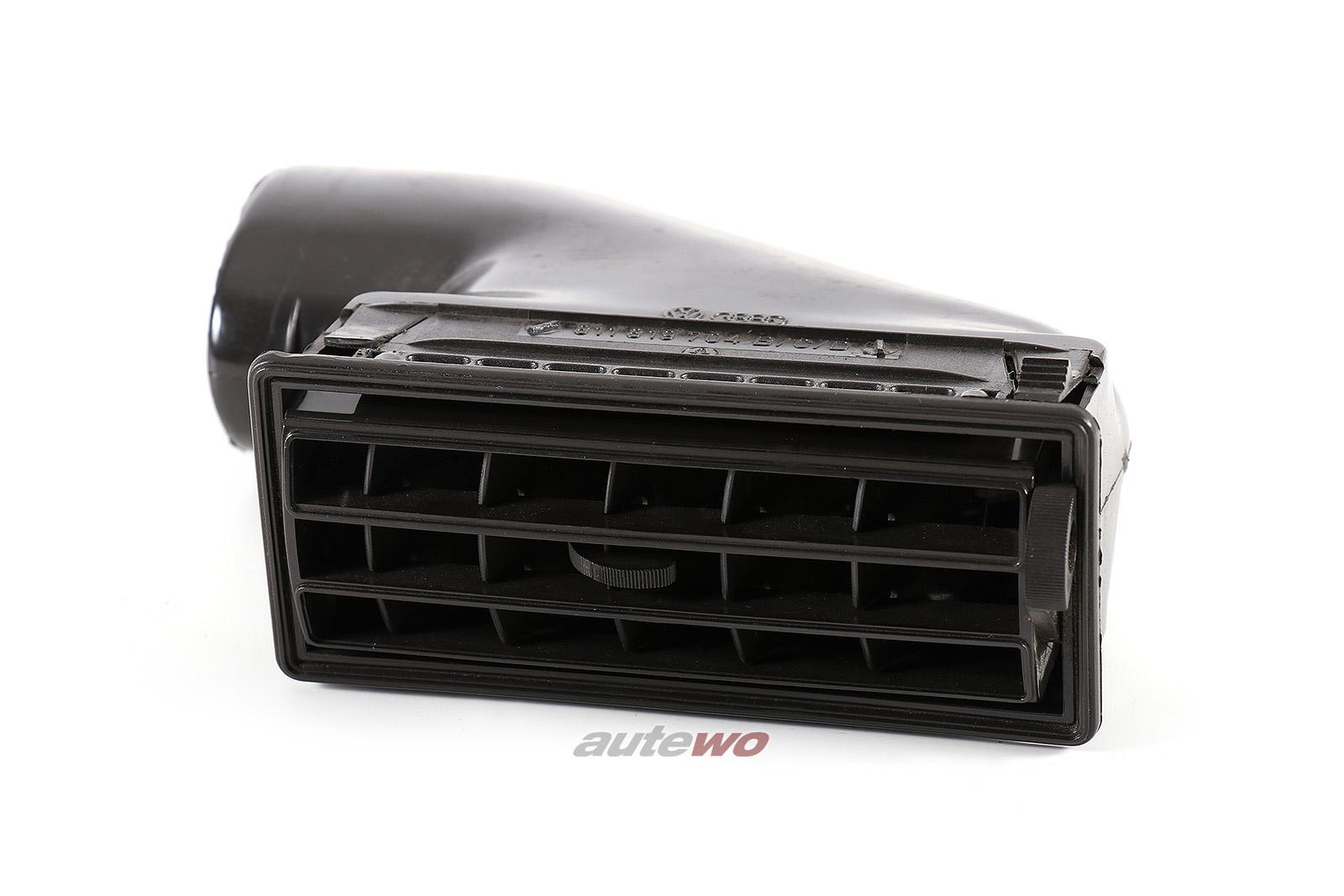 811819704B Audi 80/90/Coupe Typ 81/85 Luftdüse Armaturenbrett Rechts negro
