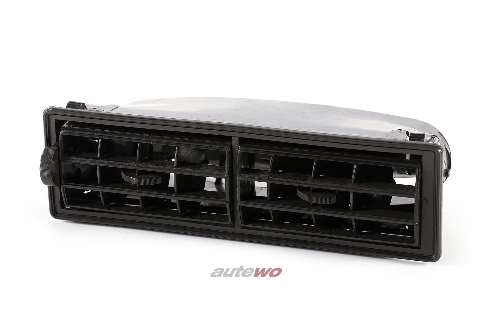 321820329 811819685B Audi 80/90/Coupe Typ 81/85 Luftdüse Mitte negro